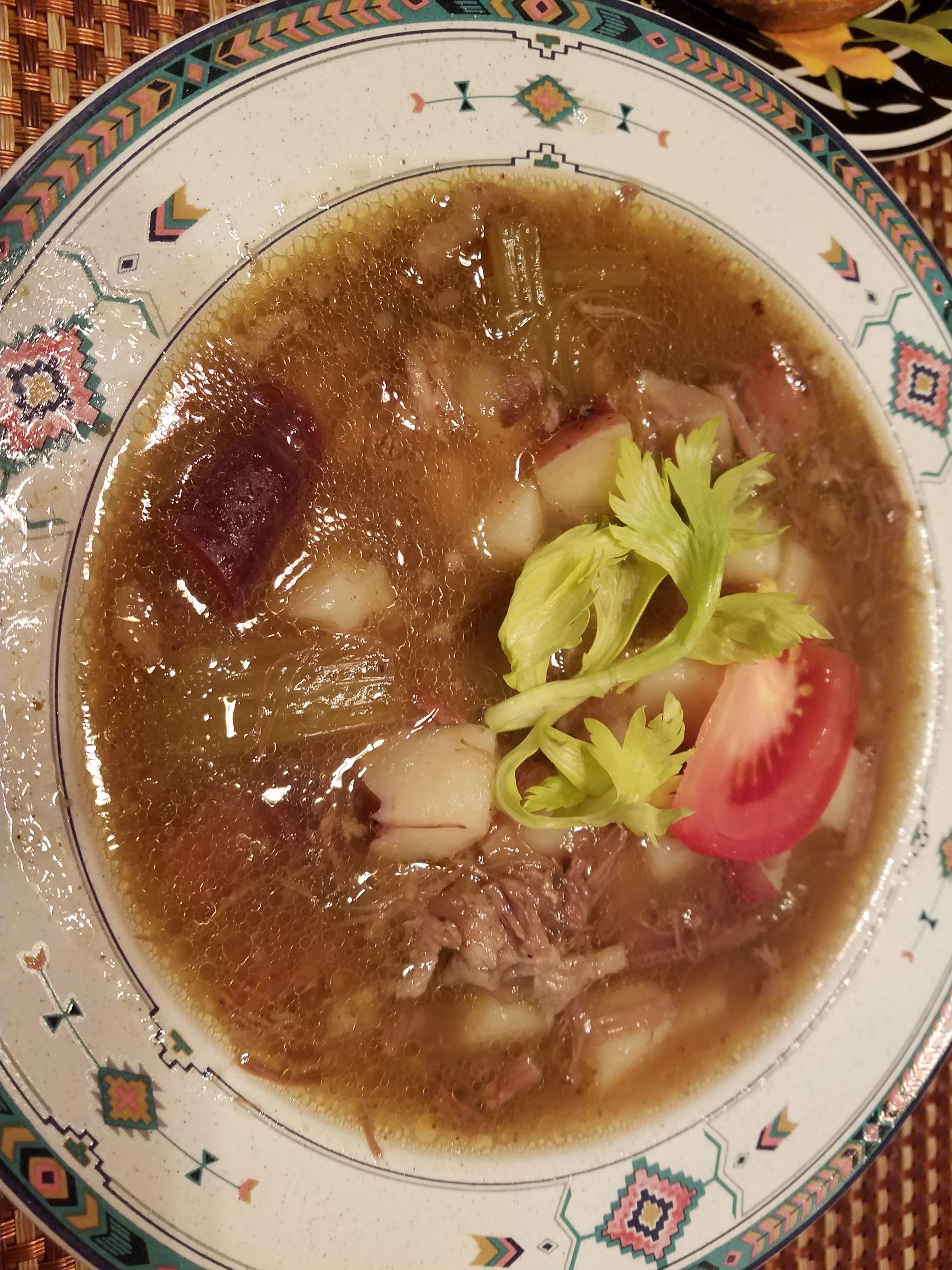 Sop Buntot (Indonesian Oxtail Soup)