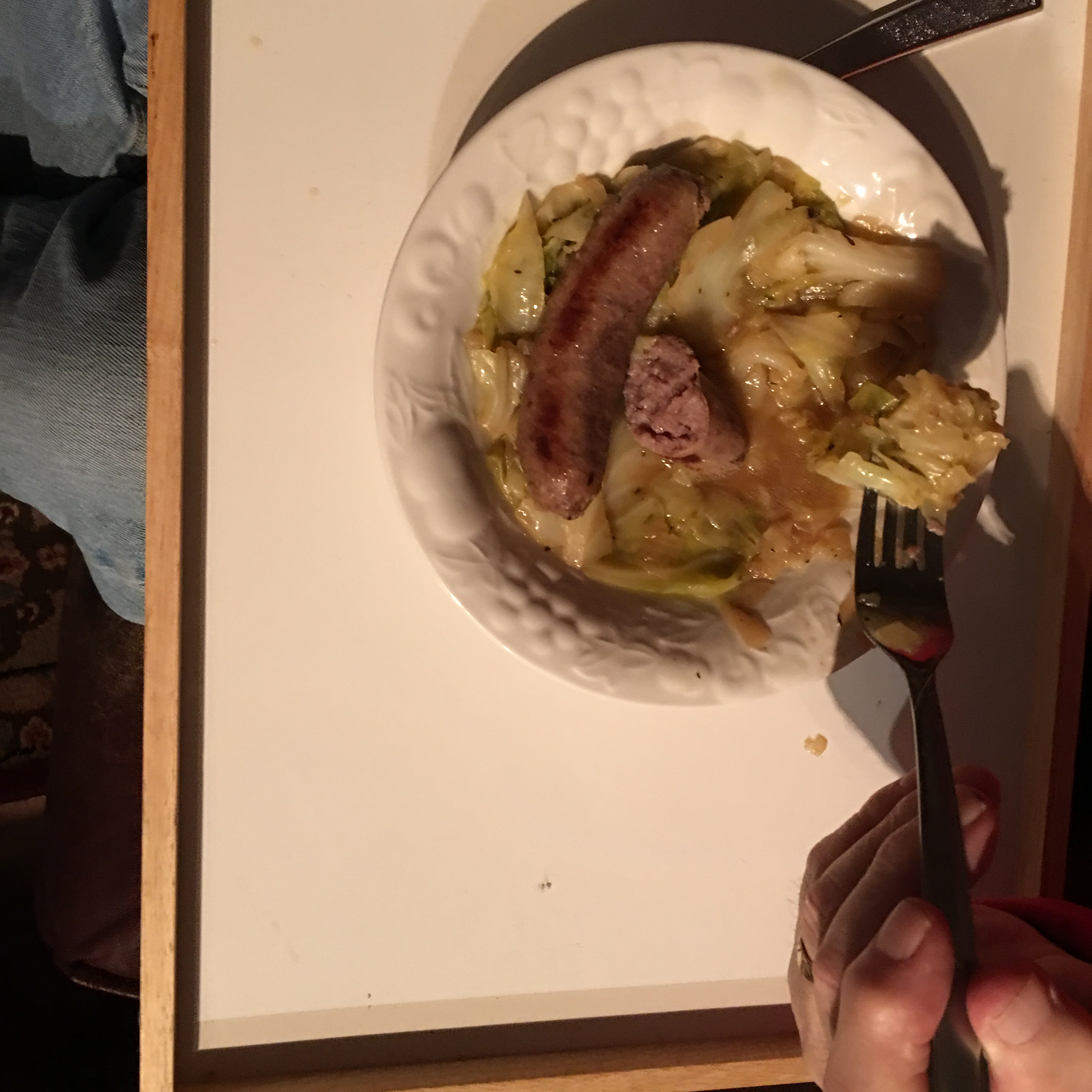 Kielbasa and Cabbage for Electric Pressure Cookers Brenda