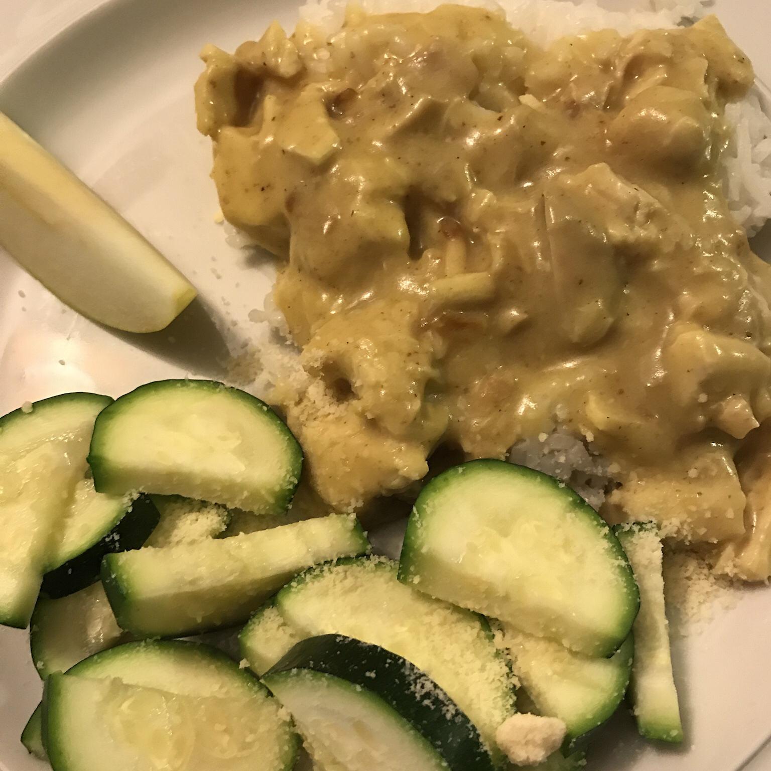 Simple Chicken Curry JDANCER1