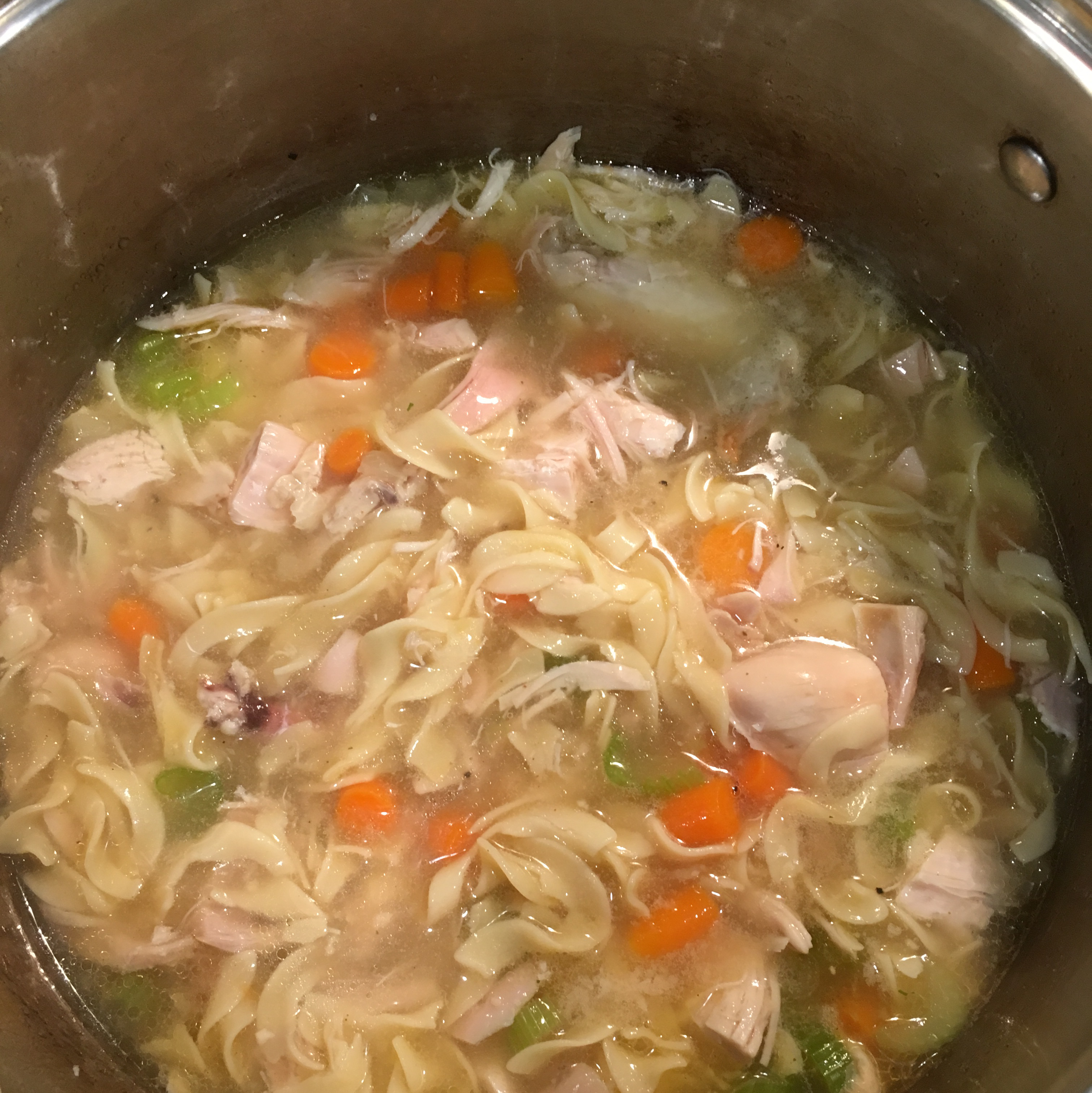 Grandma's Chicken Noodle Soup liztep