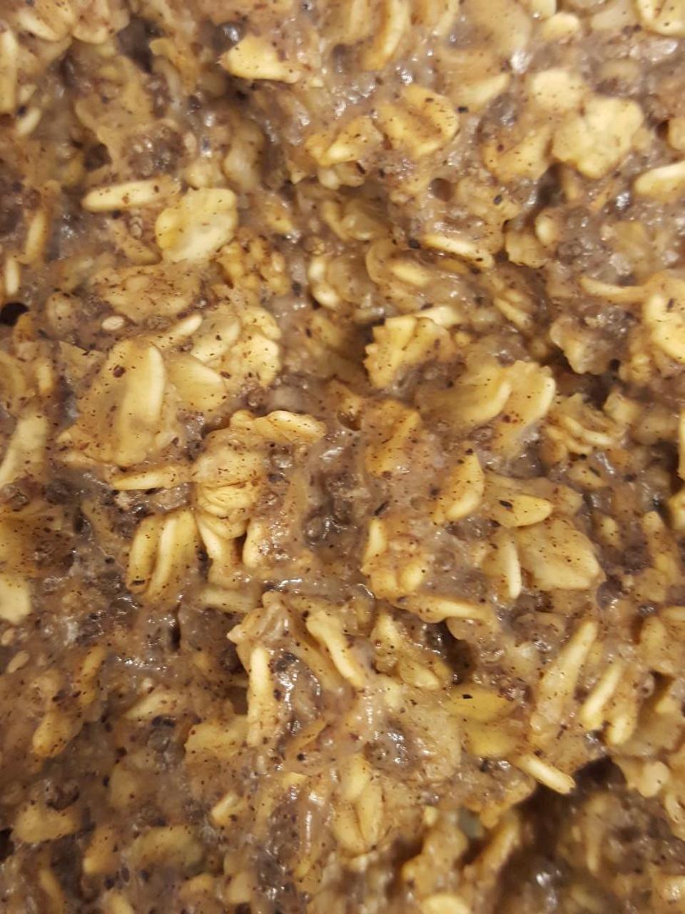 Vegan Vanilla Nut Oatmeal Quevin Chase