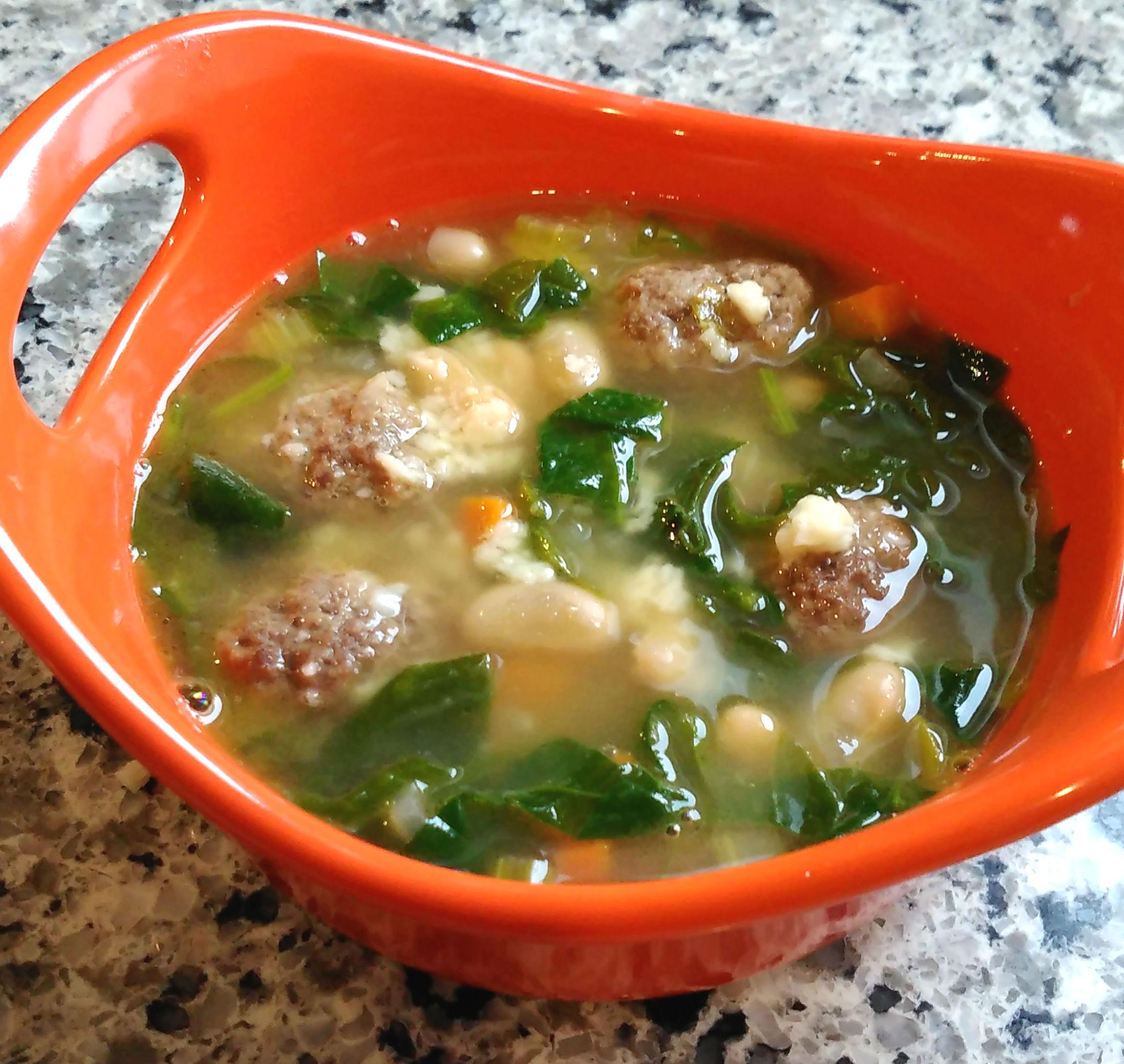 KK's Italian Meatball Soup