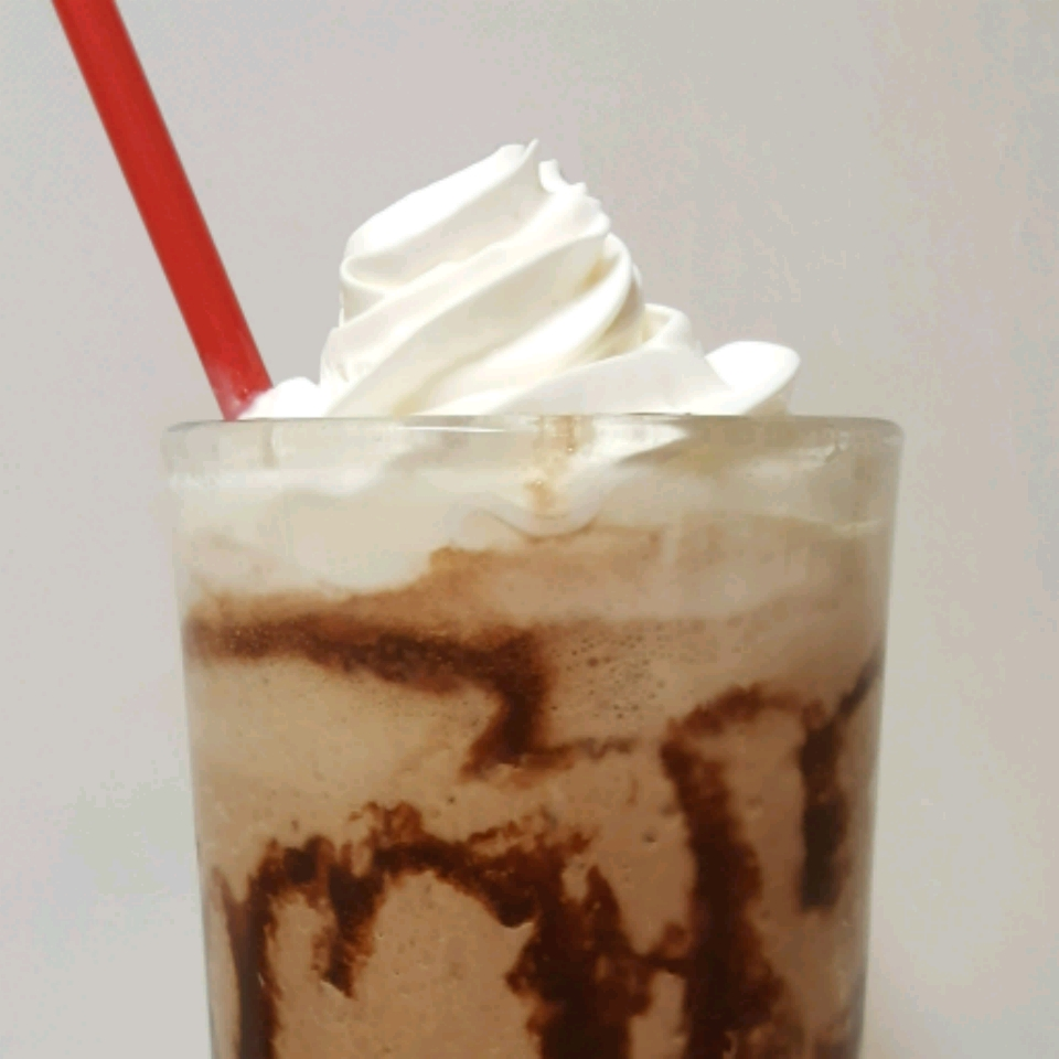 Chocolate Peanut Butter Iced Coffee sandra