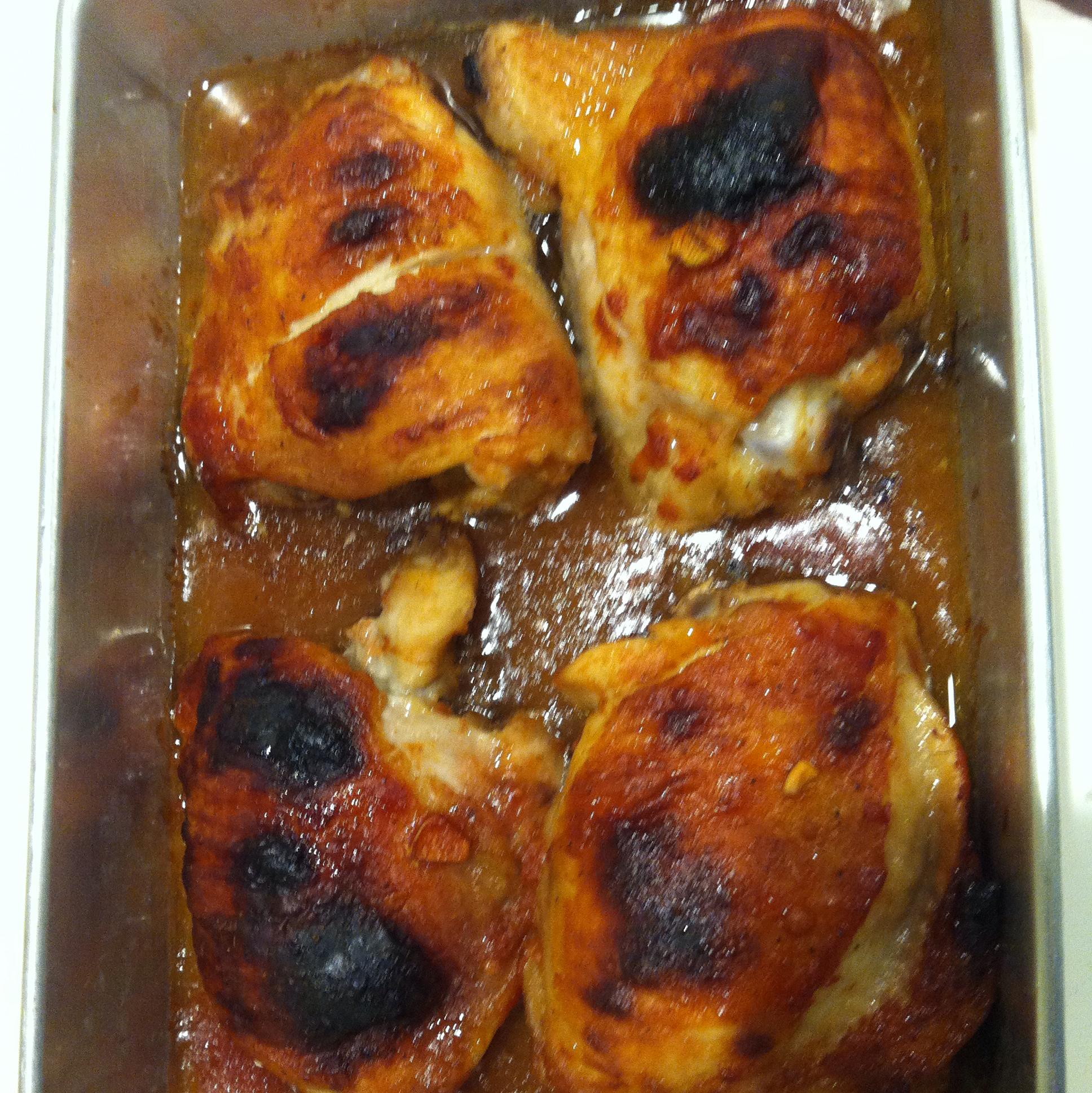 BBQ Chicken Thighs lyn