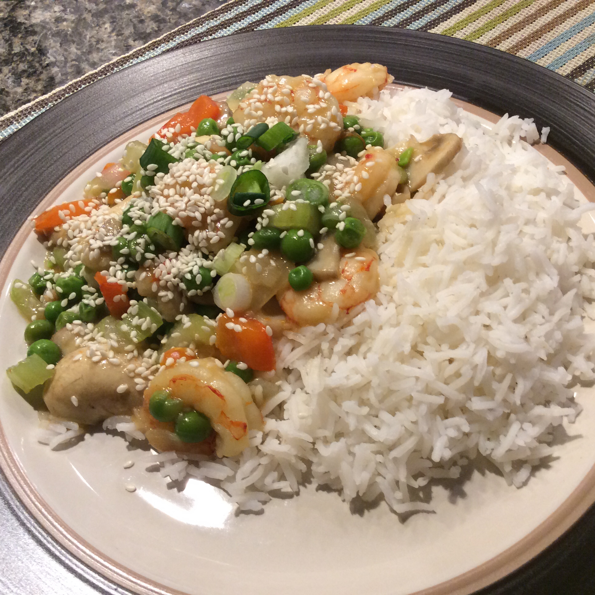 Shrimp Stirfry Cheryl