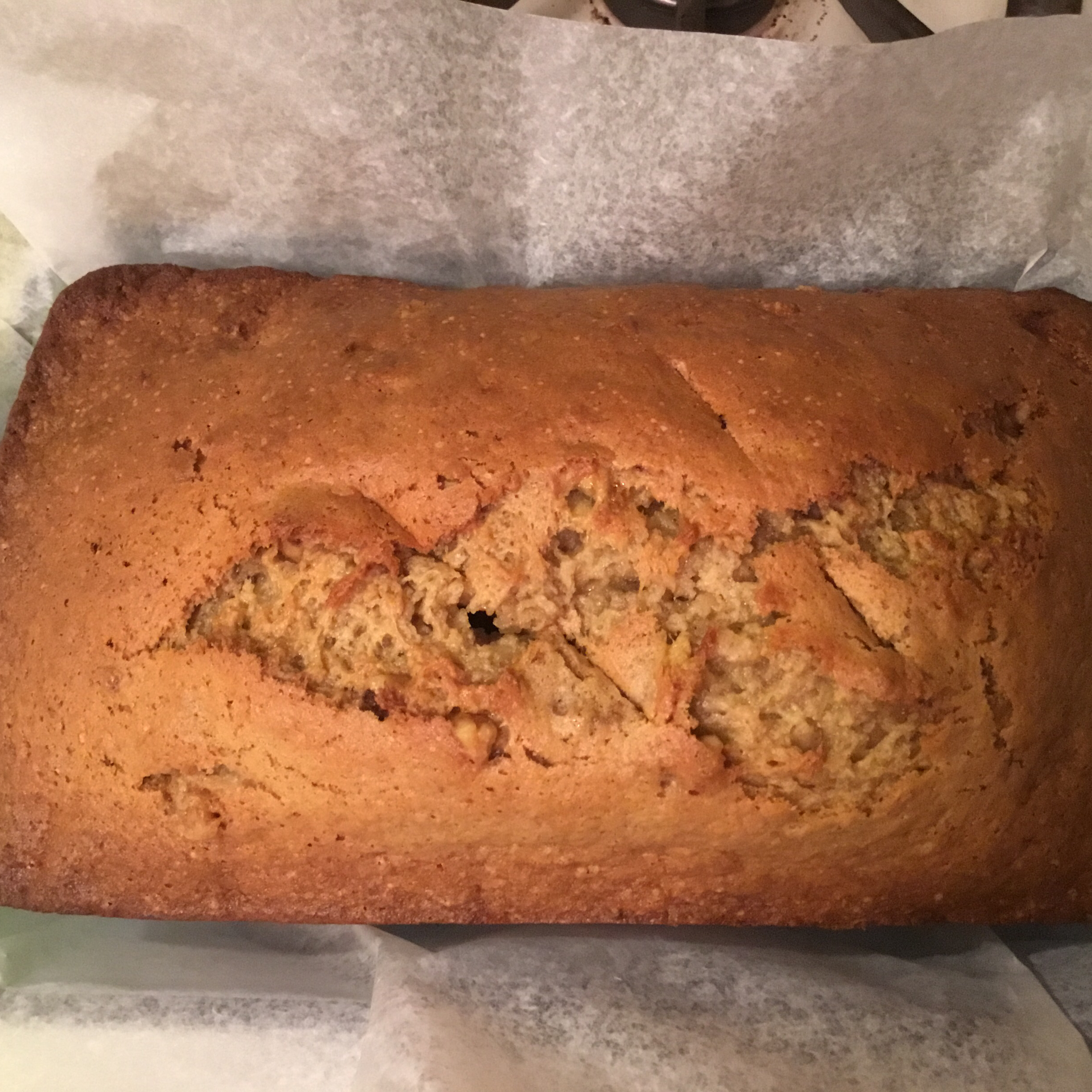 Almost No Fat Banana Bread Peachy Queen