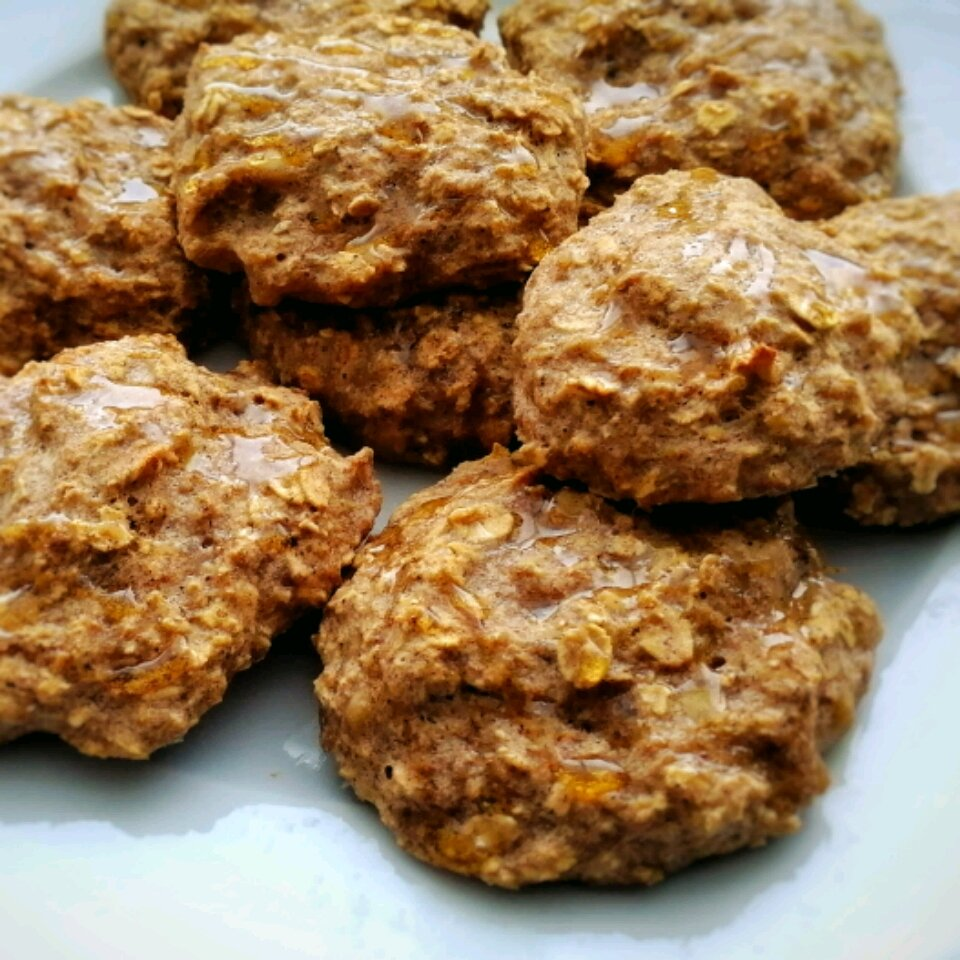clean banana oat cookies recipe