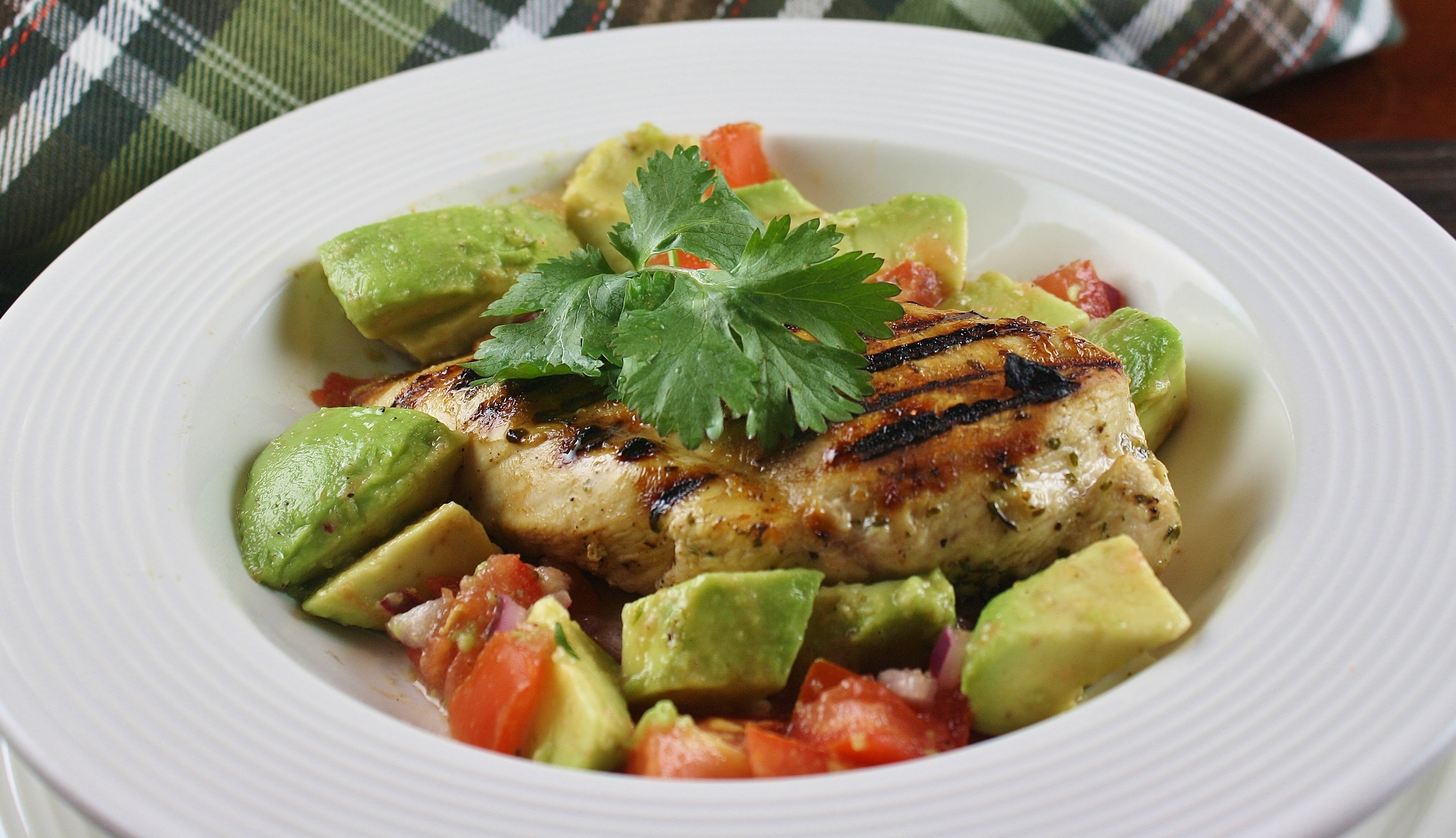 Cilantro-Lime Grilled Chicken
