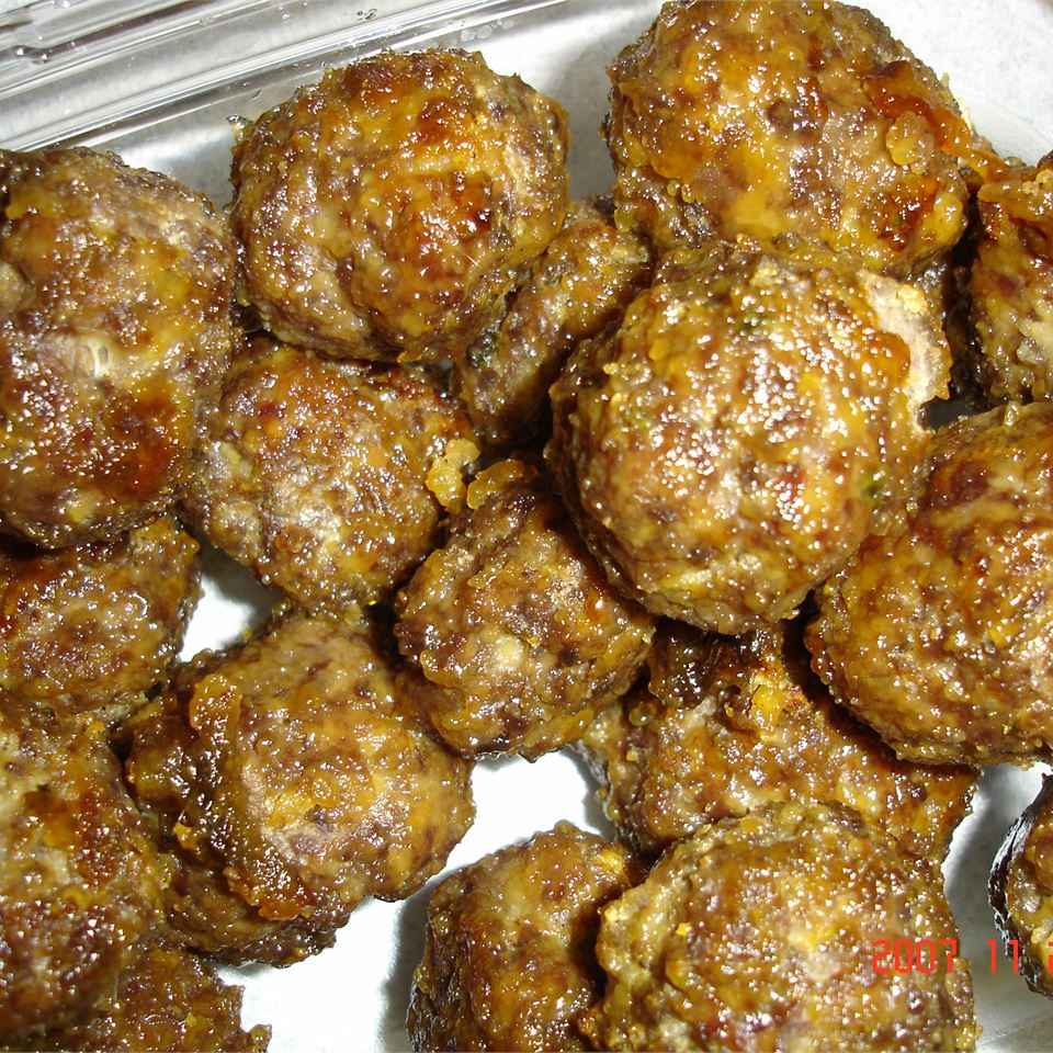 Sweet and Sour Meatballs in Oven