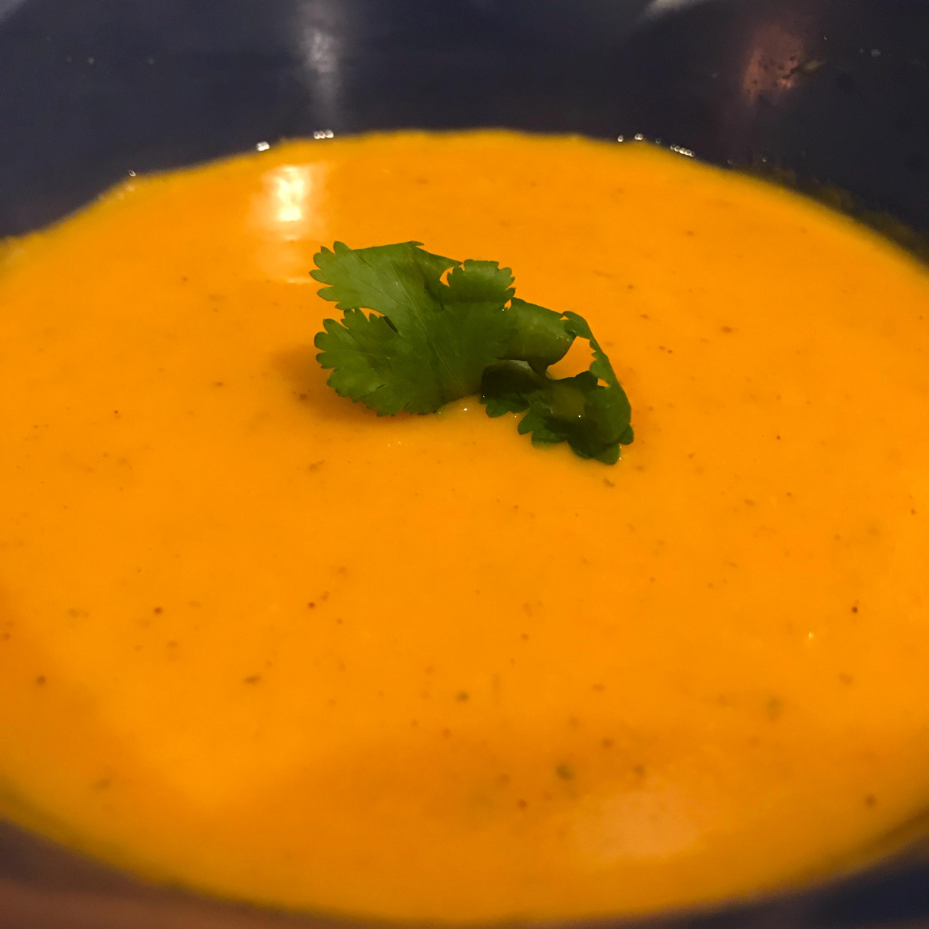 Curried Sweet Potato Soup Mike B.