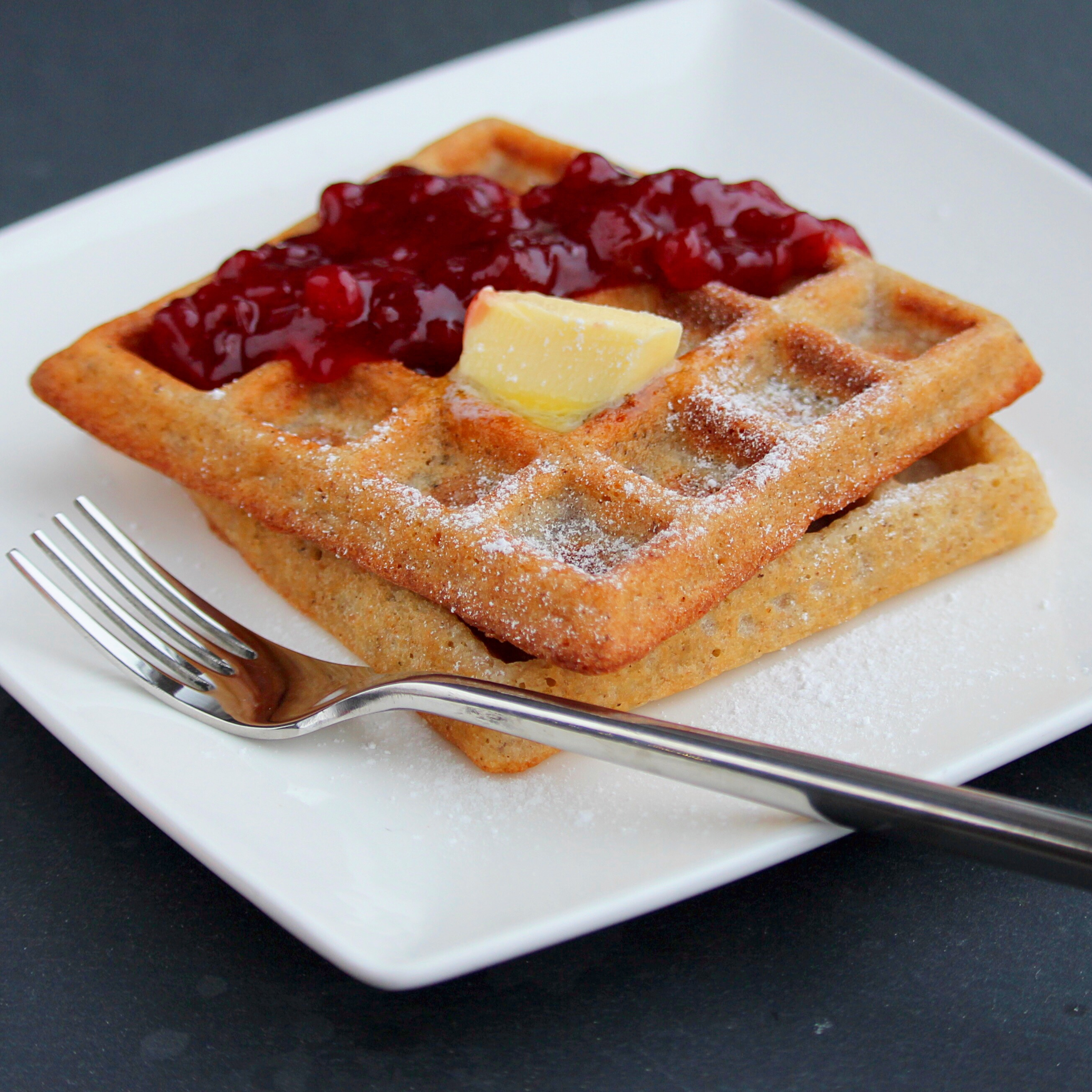 Delectable Organic Gluten-Free Waffles
