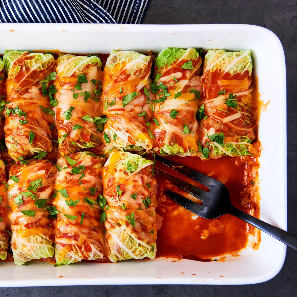 Cabbage Roll Chicken Enchiladas Joy Howard