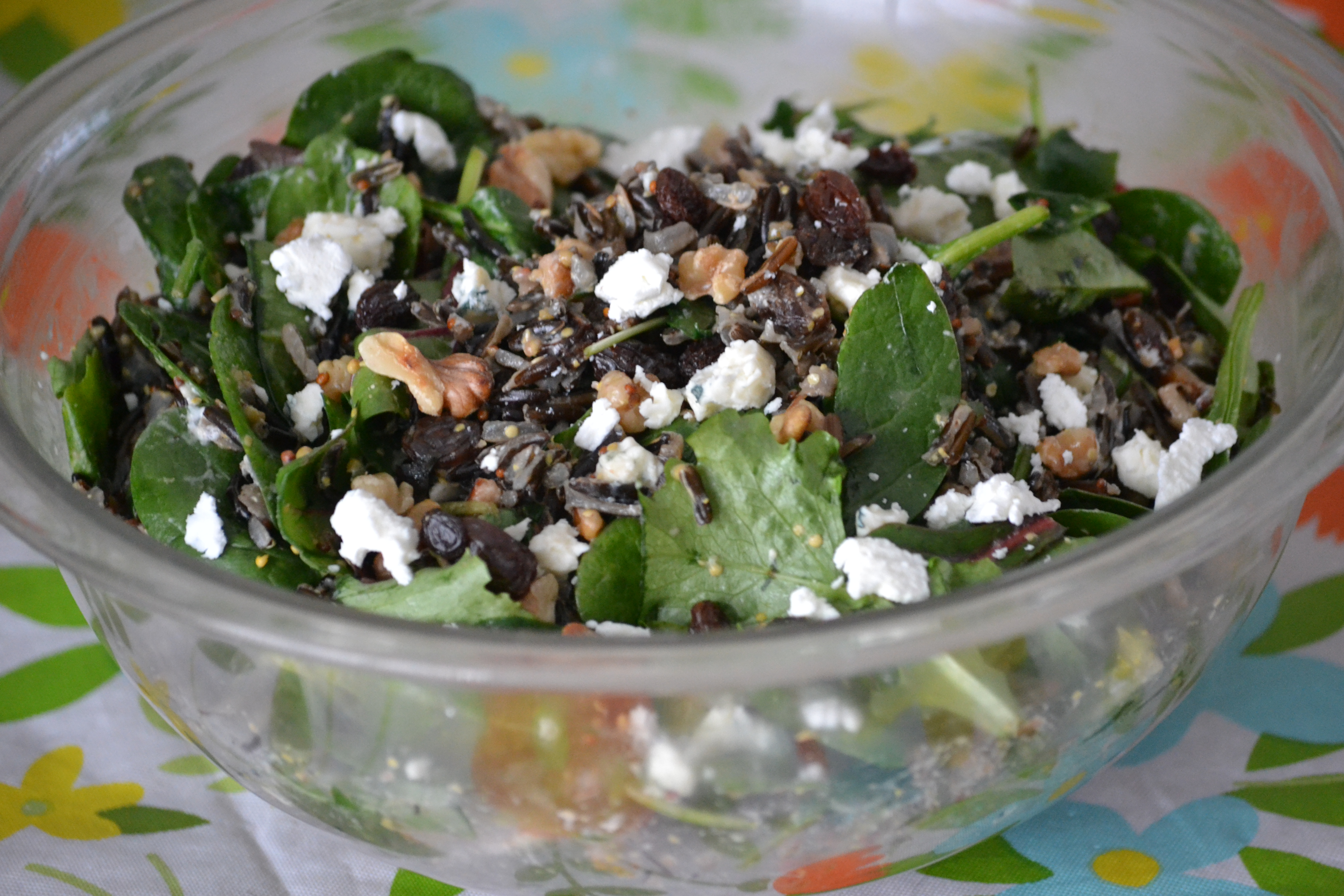 Ekaterina's Wild Rice and Kale Salad Kim