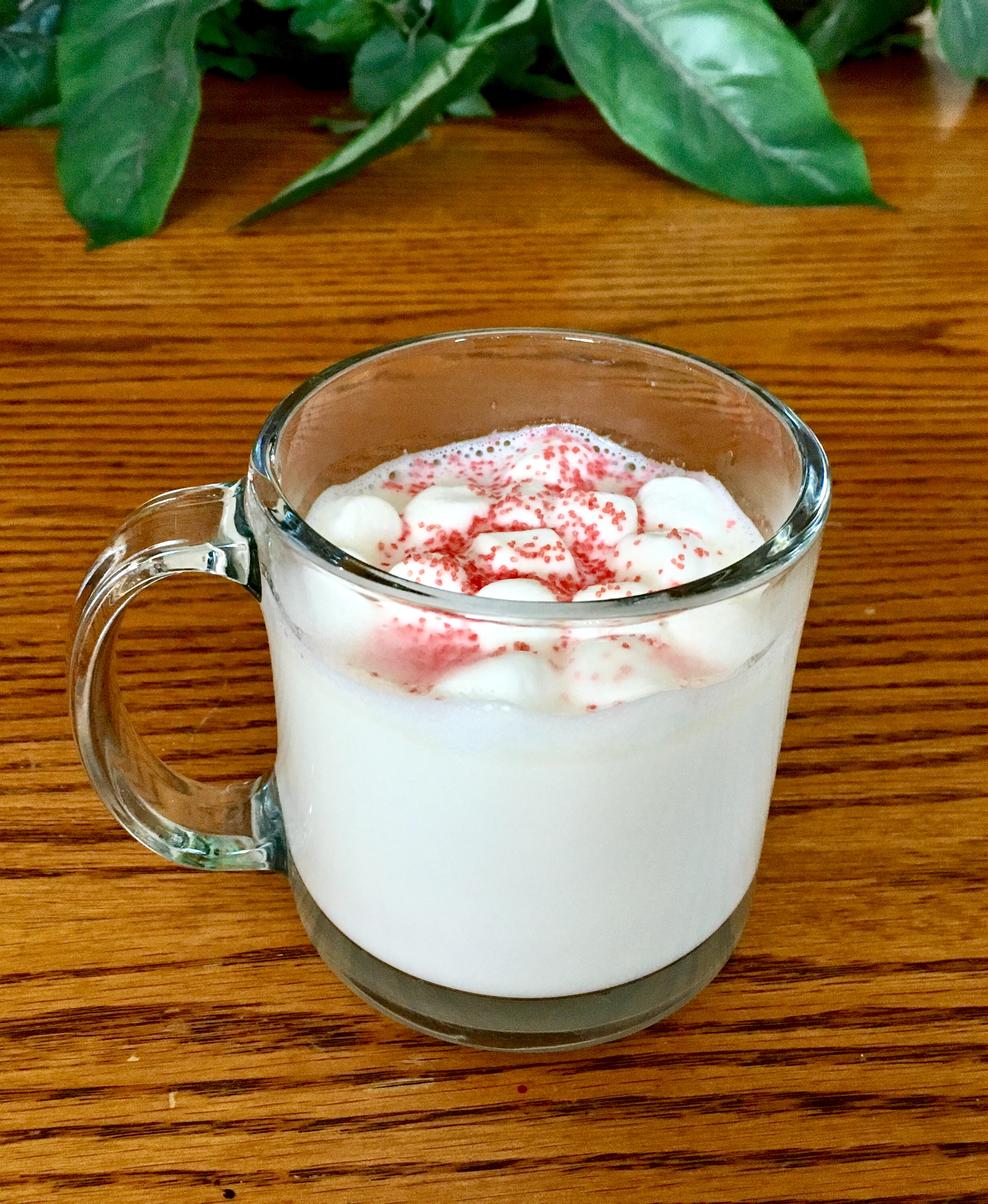 White Hot Chocolate with Marshmallows