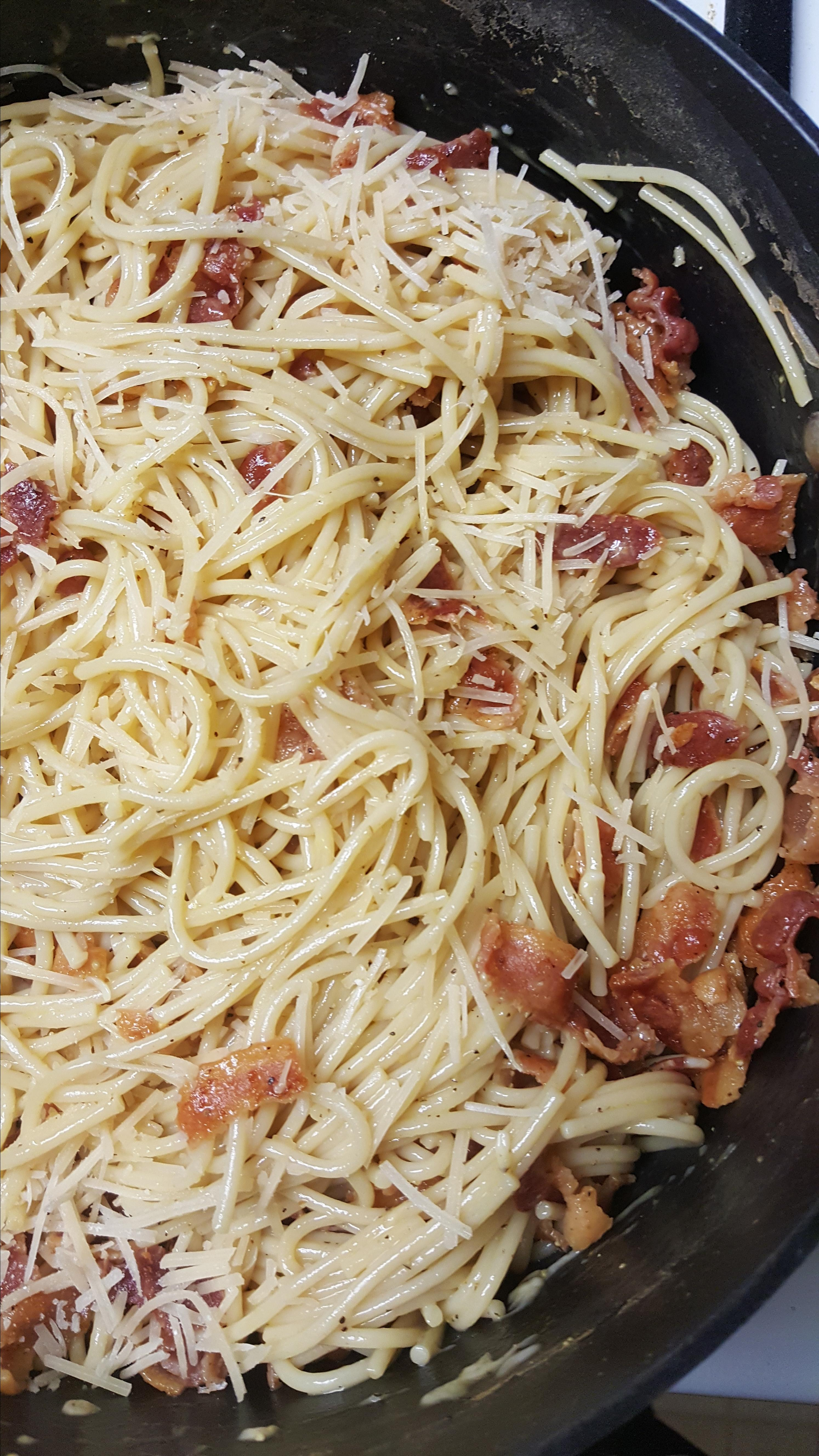 Spaghetti alla Carbonara: the Traditional Italian Recipe Charlotteh