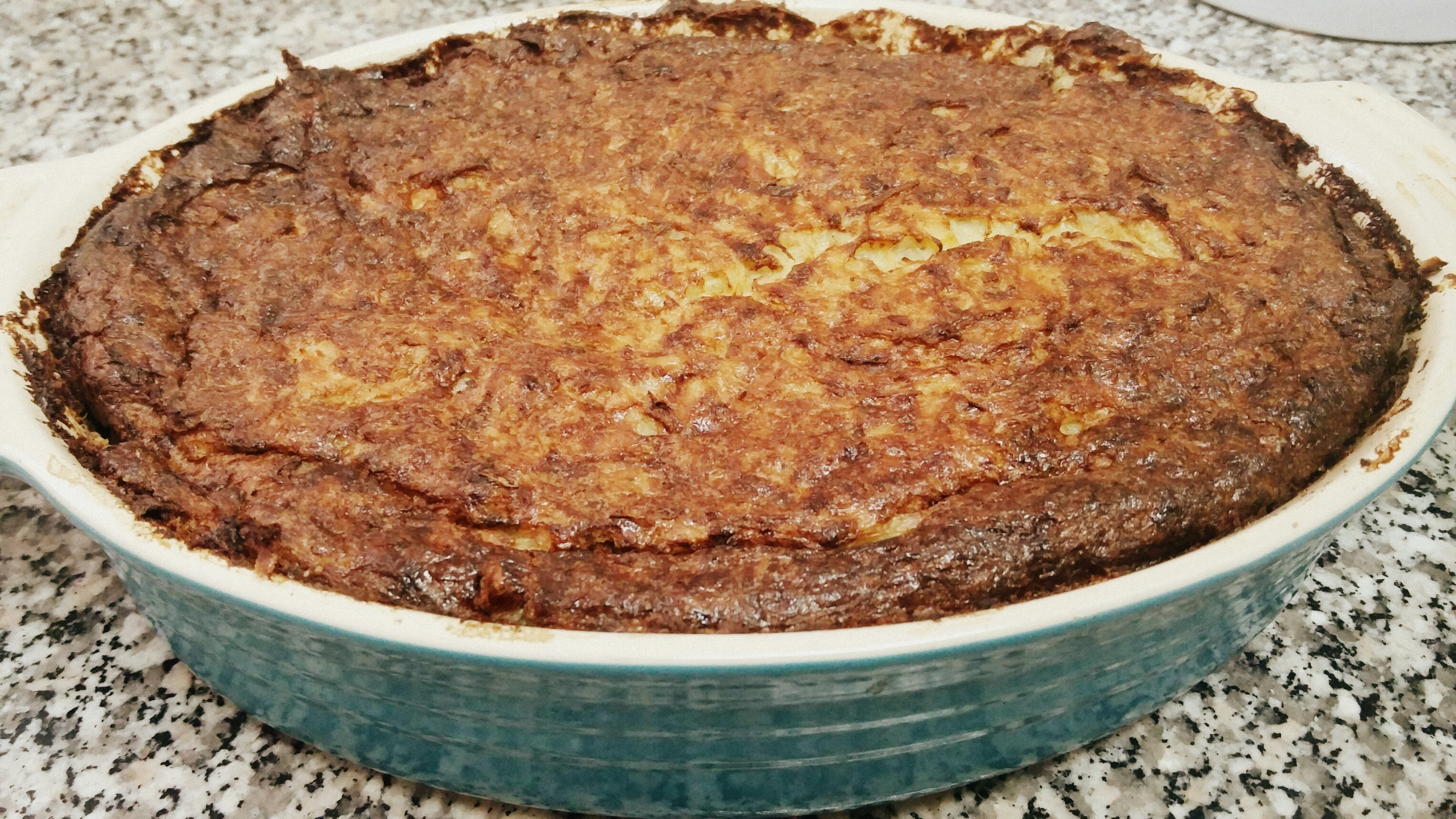 Old Fashioned Potato Kugel