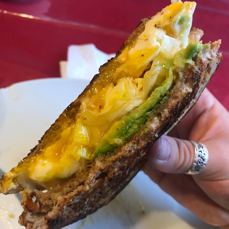 Avocado Breakfast Sandwich Mayra De León