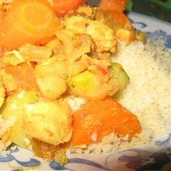 Moroccan Chicken and Whole Grain Couscous corndogmcp