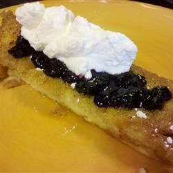 Blueberry and Raspberry Pancake Topping