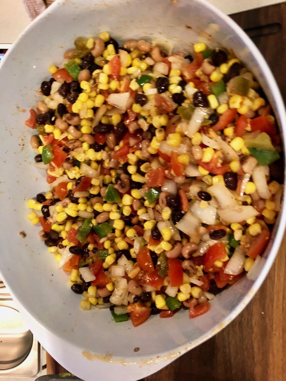 Spicy Bean Salsa Ronald Hayden