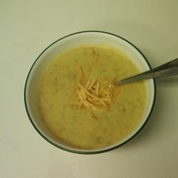 Broccoli Cheese Soup III Joyce