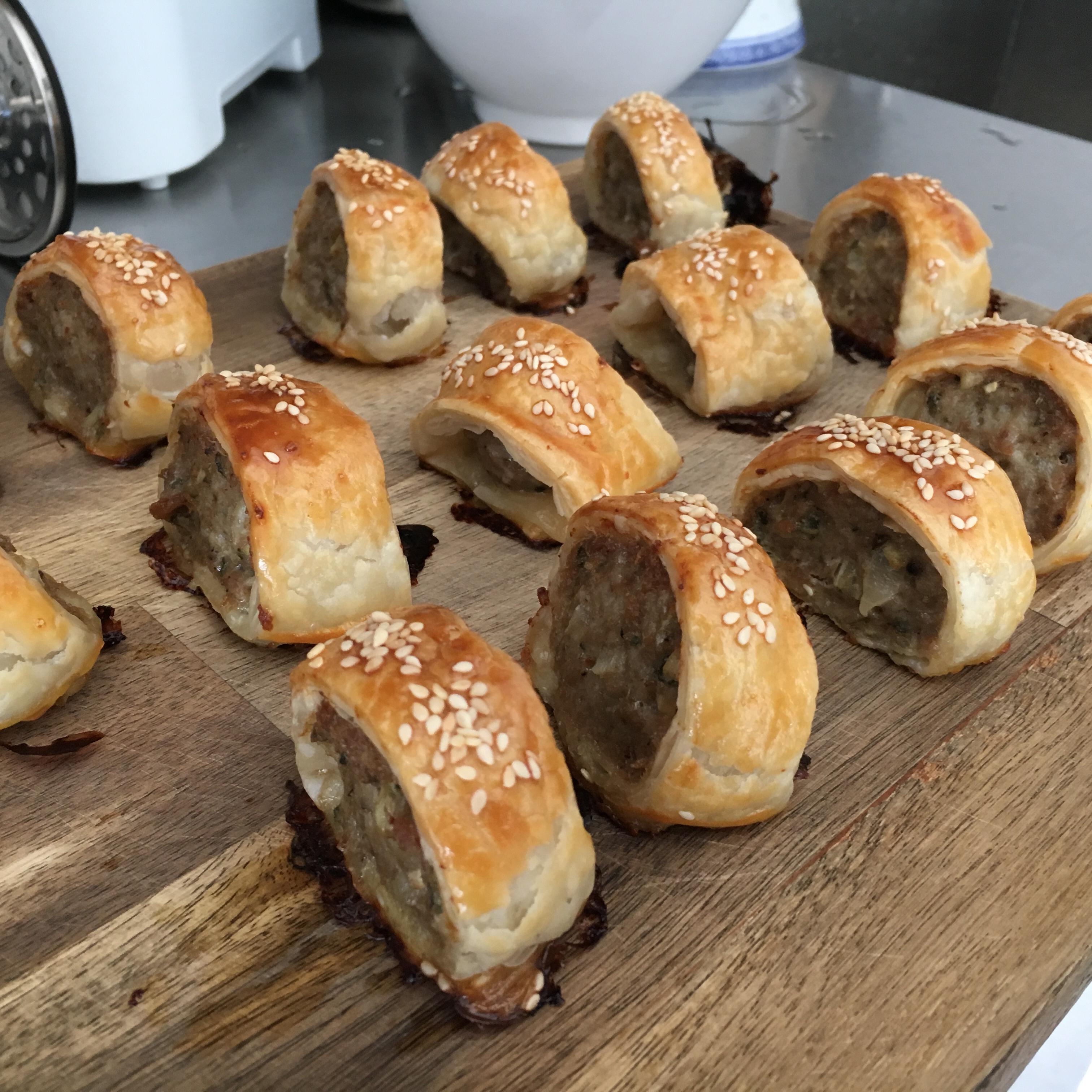 Chef John's Sausage Rolls trix