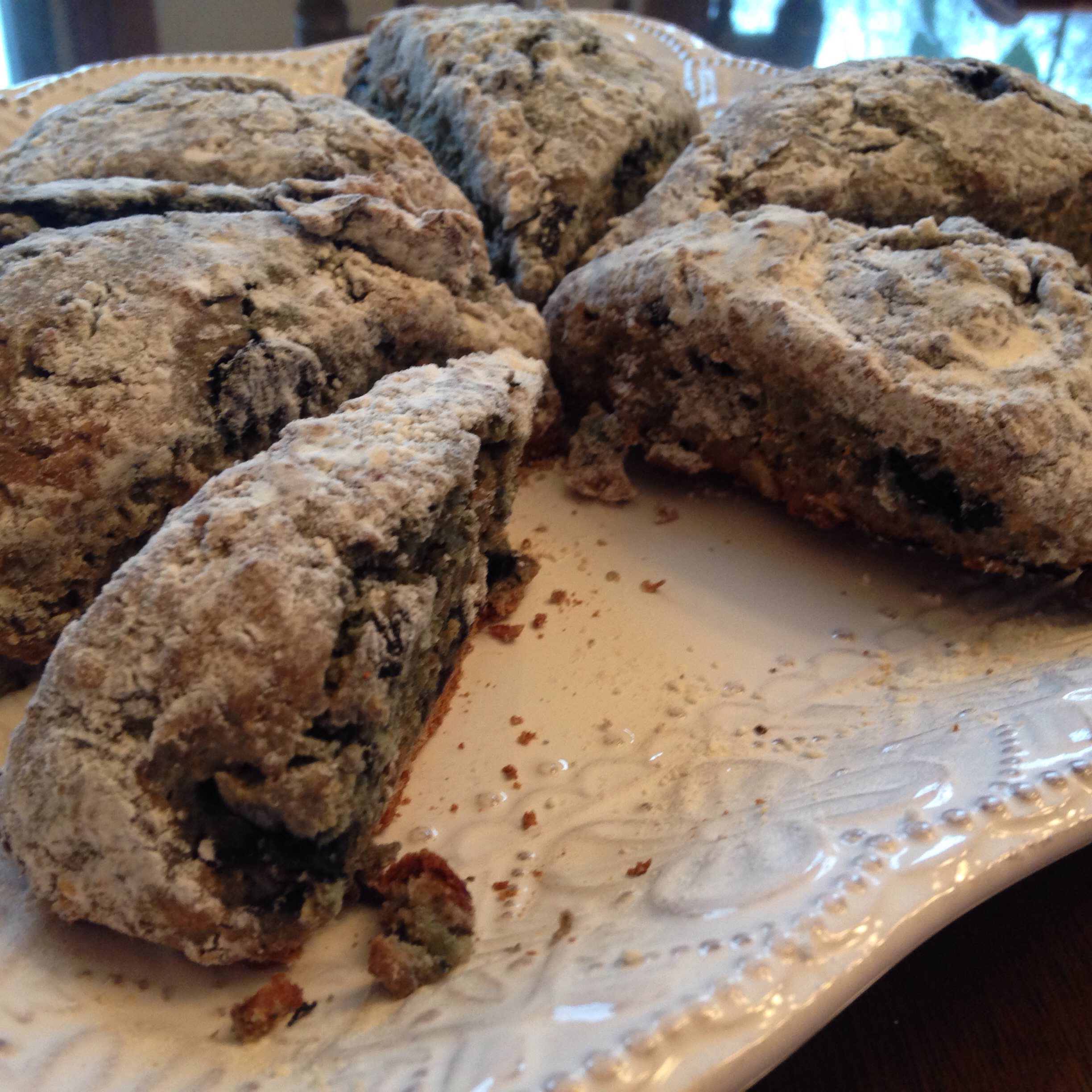 Blueberry Oatmeal Scones Rmveronica