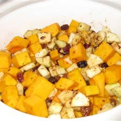 Savory Slow Cooker Squash and Apple Dish Whitney Saunders
