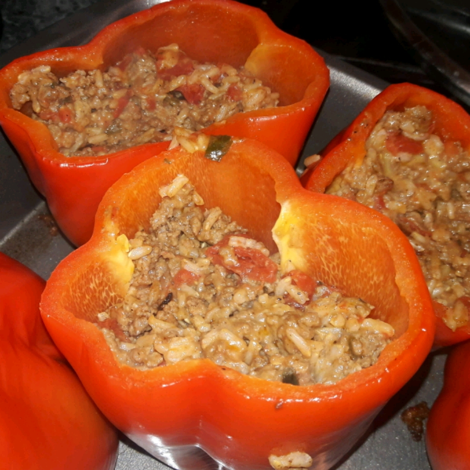 FODMAP Stuffed Peppers Amanda H
