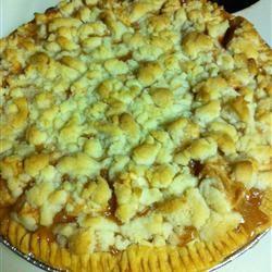 Apple Crumb Pie crystal