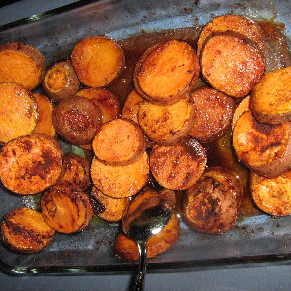 Cinnamon Roasted Sweet Potatoes Ashley B.