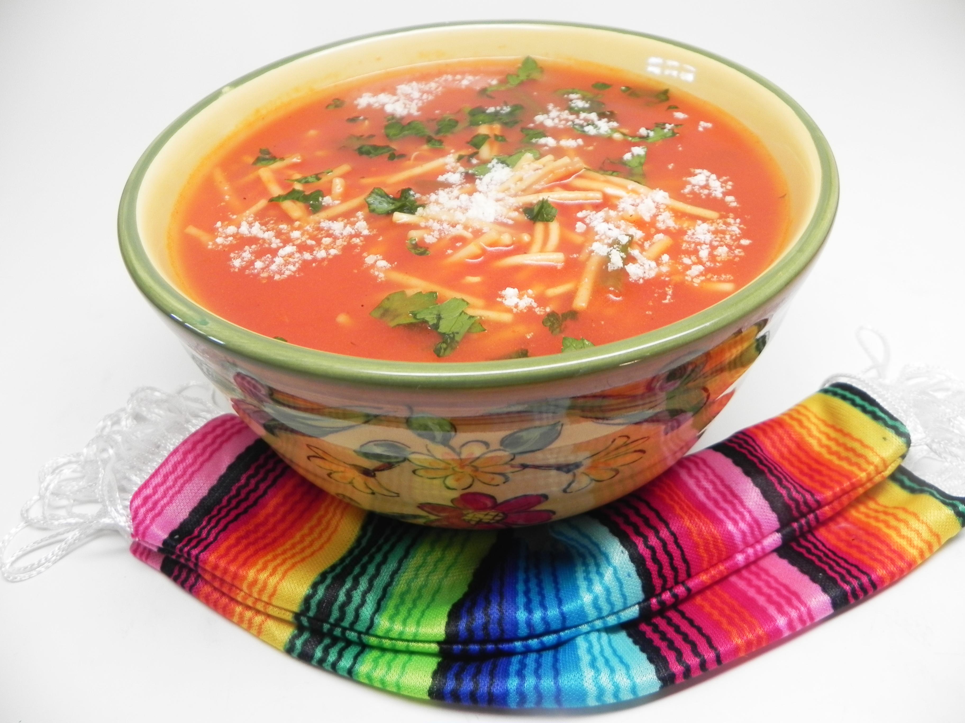 Mexican Noodle Soup (Sopa de Fideo)