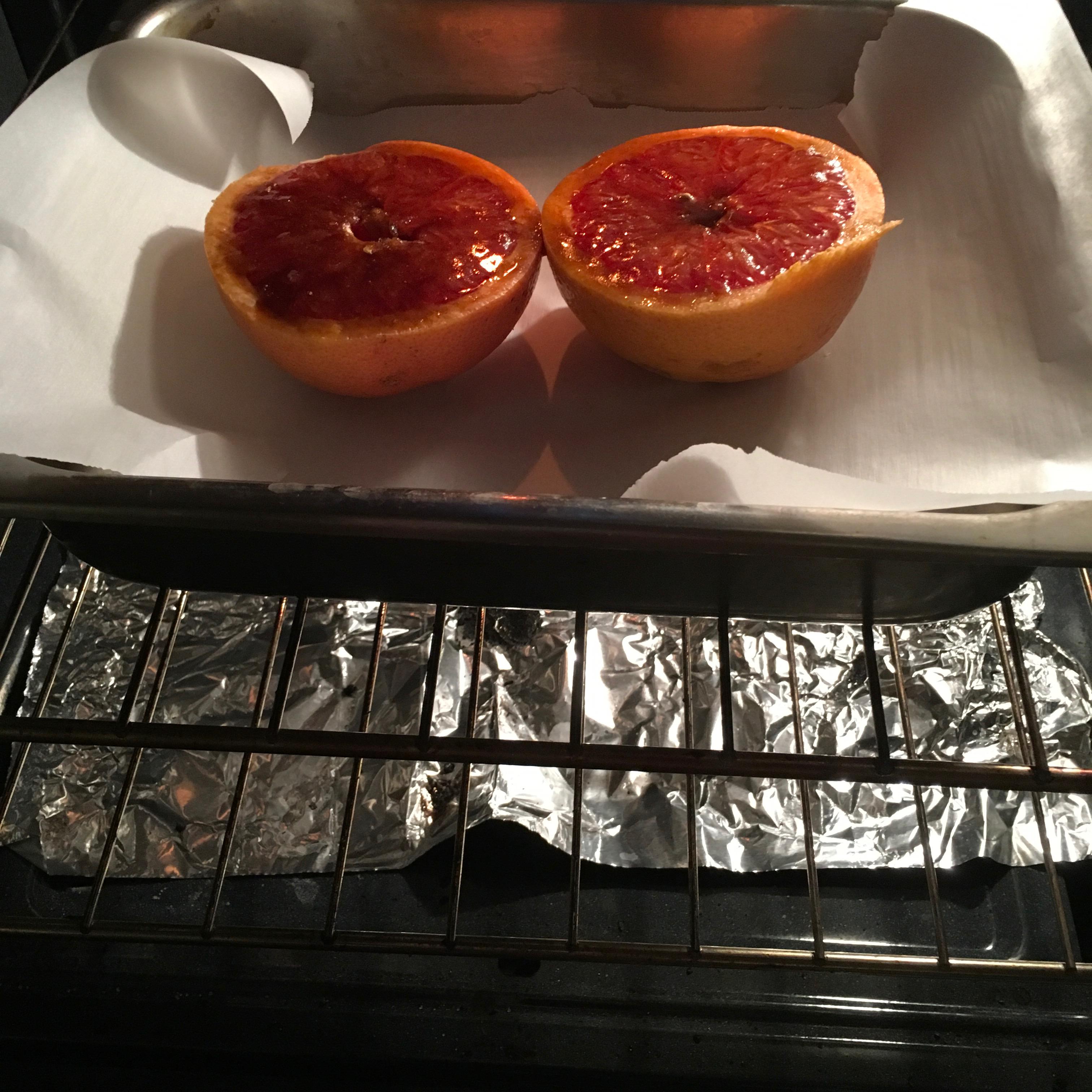 Simple Broiled Grapefruit agnes