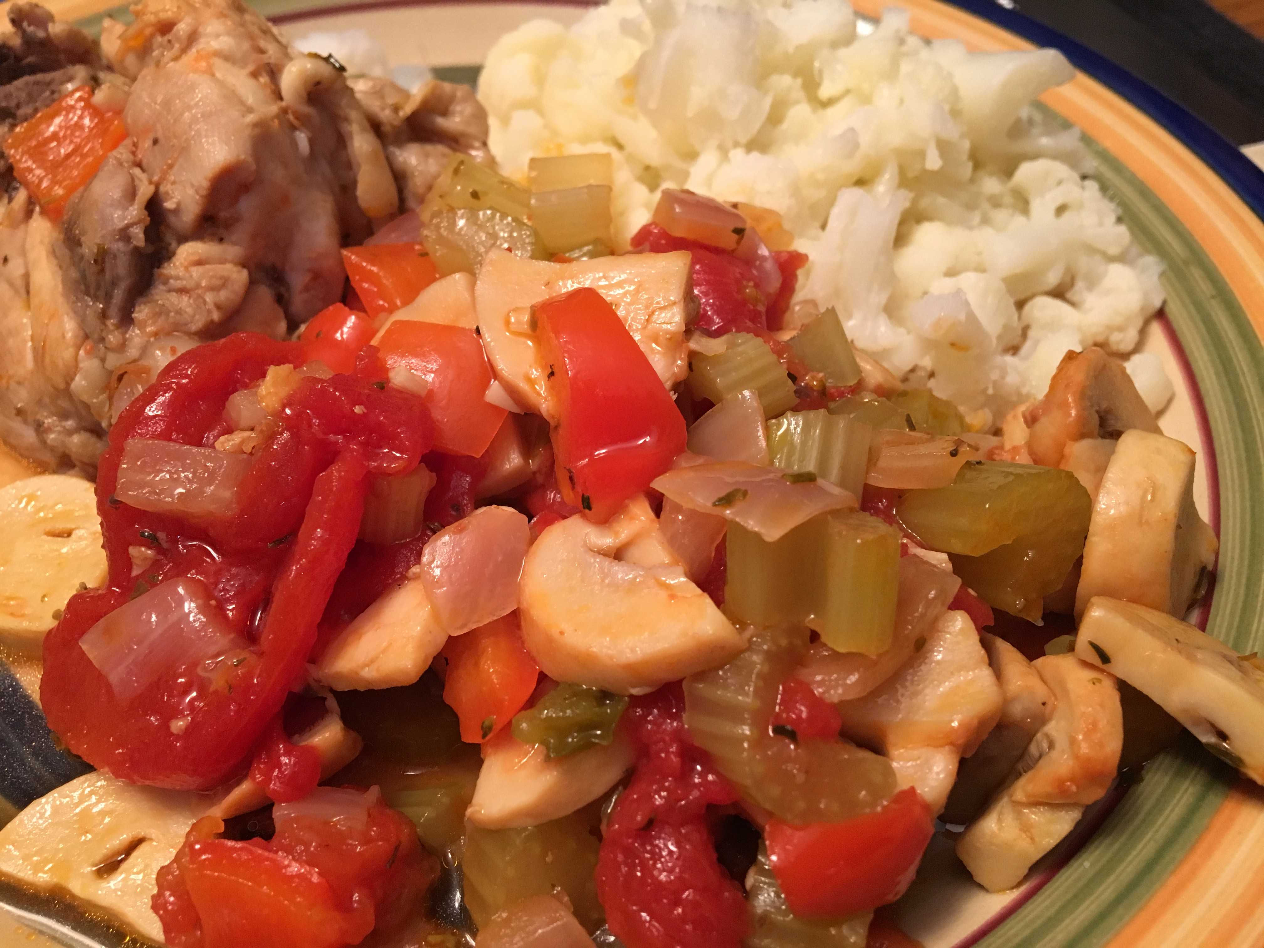 Instant Pot® Chicken Cacciatore