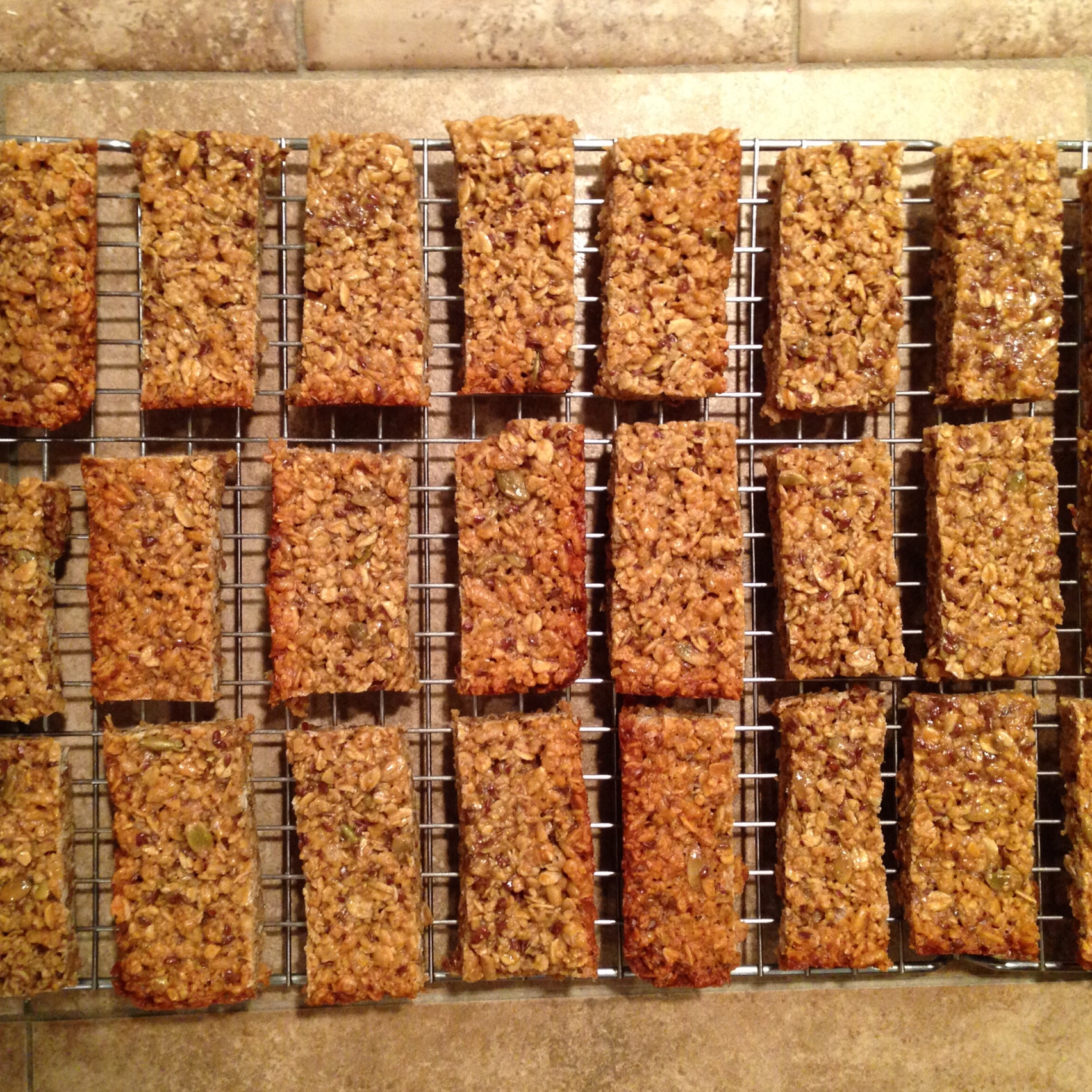 Homemade Granola Bars TracyPoy61