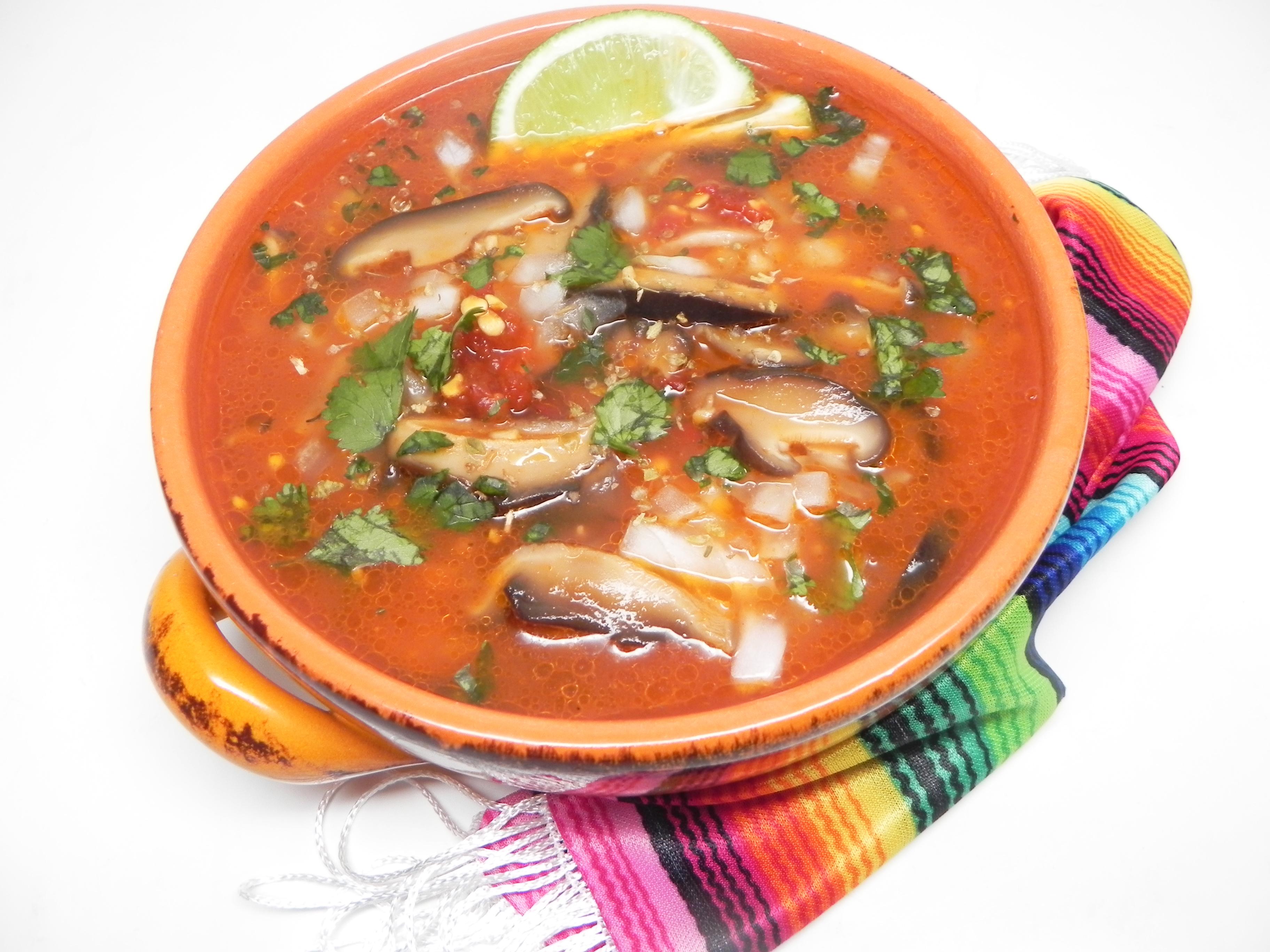 Vegan Mexican Menudo