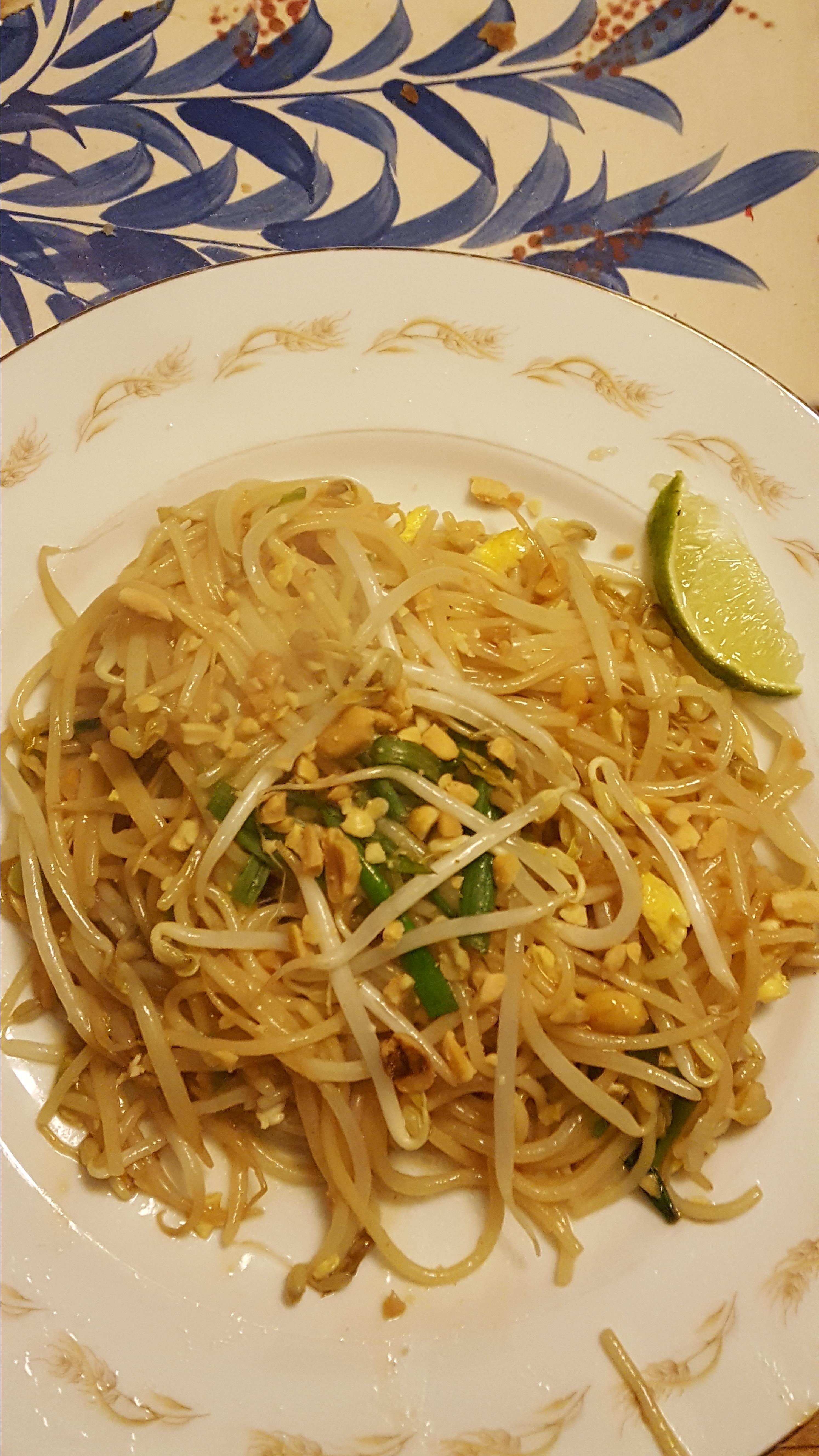 Authentic Pad Thai Noodles JC