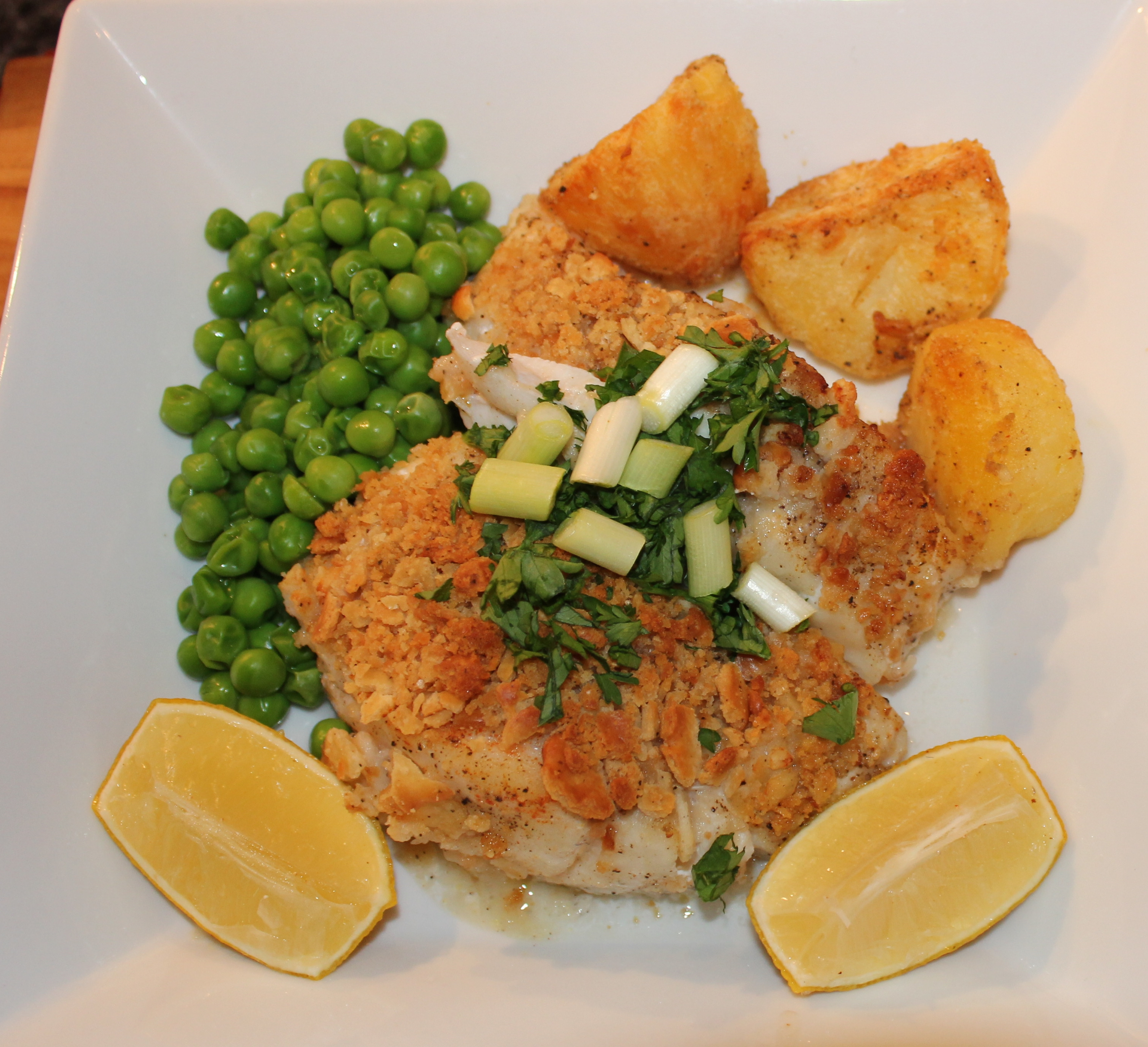 Cod with Italian Crumb Topping Mike Bramley