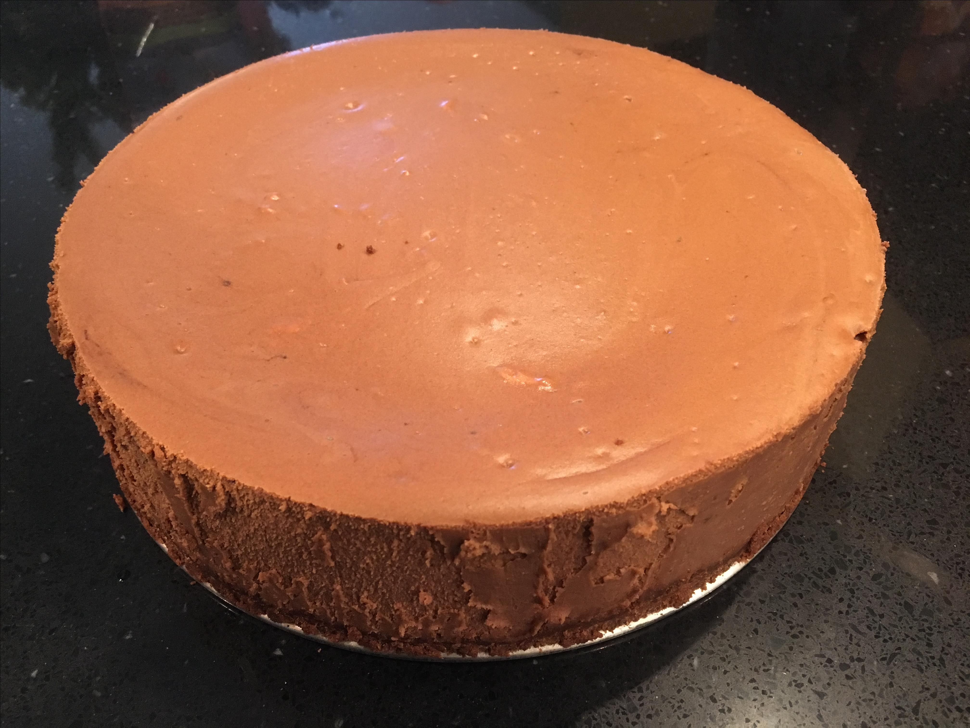 Fudge Truffle Cheesecake from EAGLE BRAND® hogle