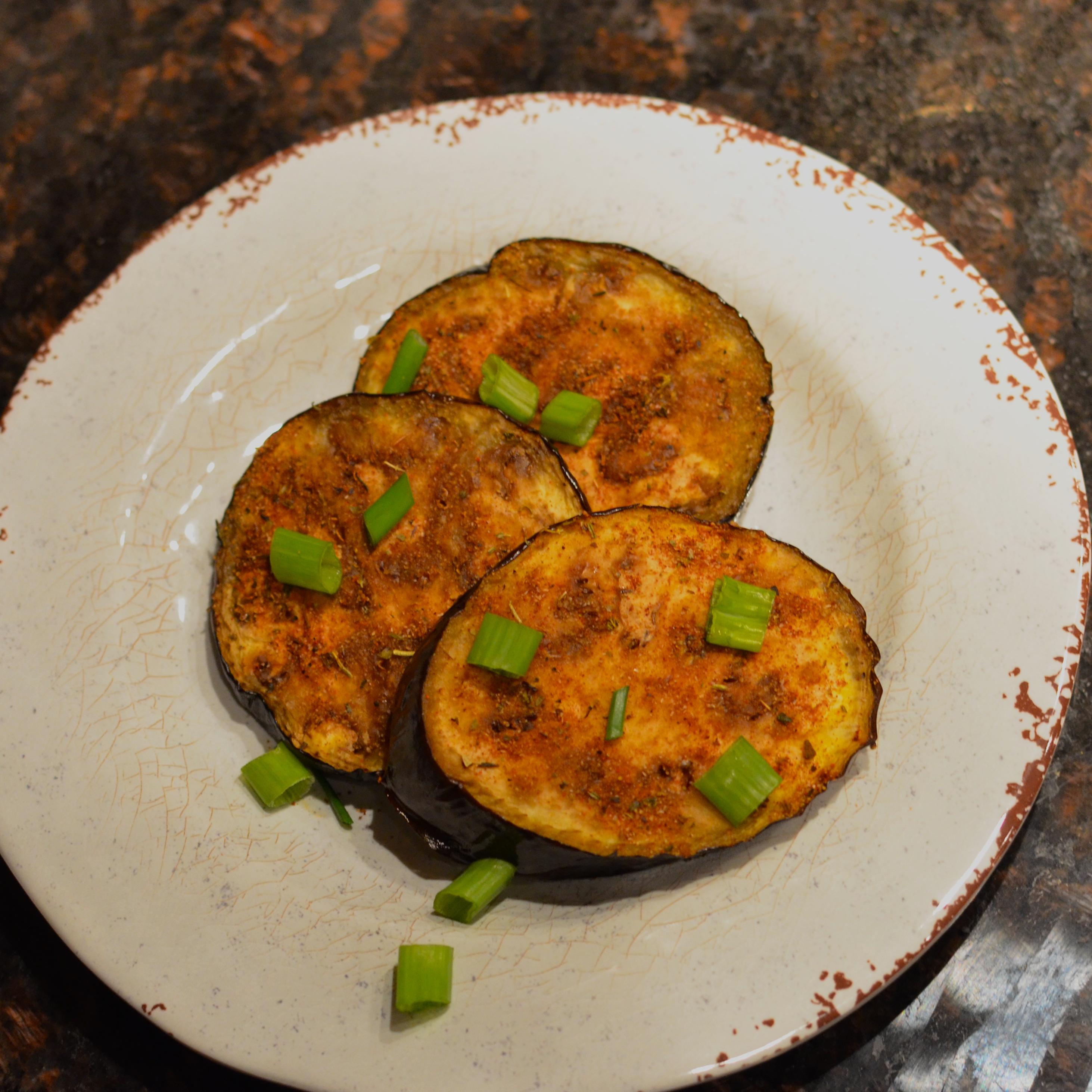 Sheet Pan Vegan Roasted Eggplant with Garlic