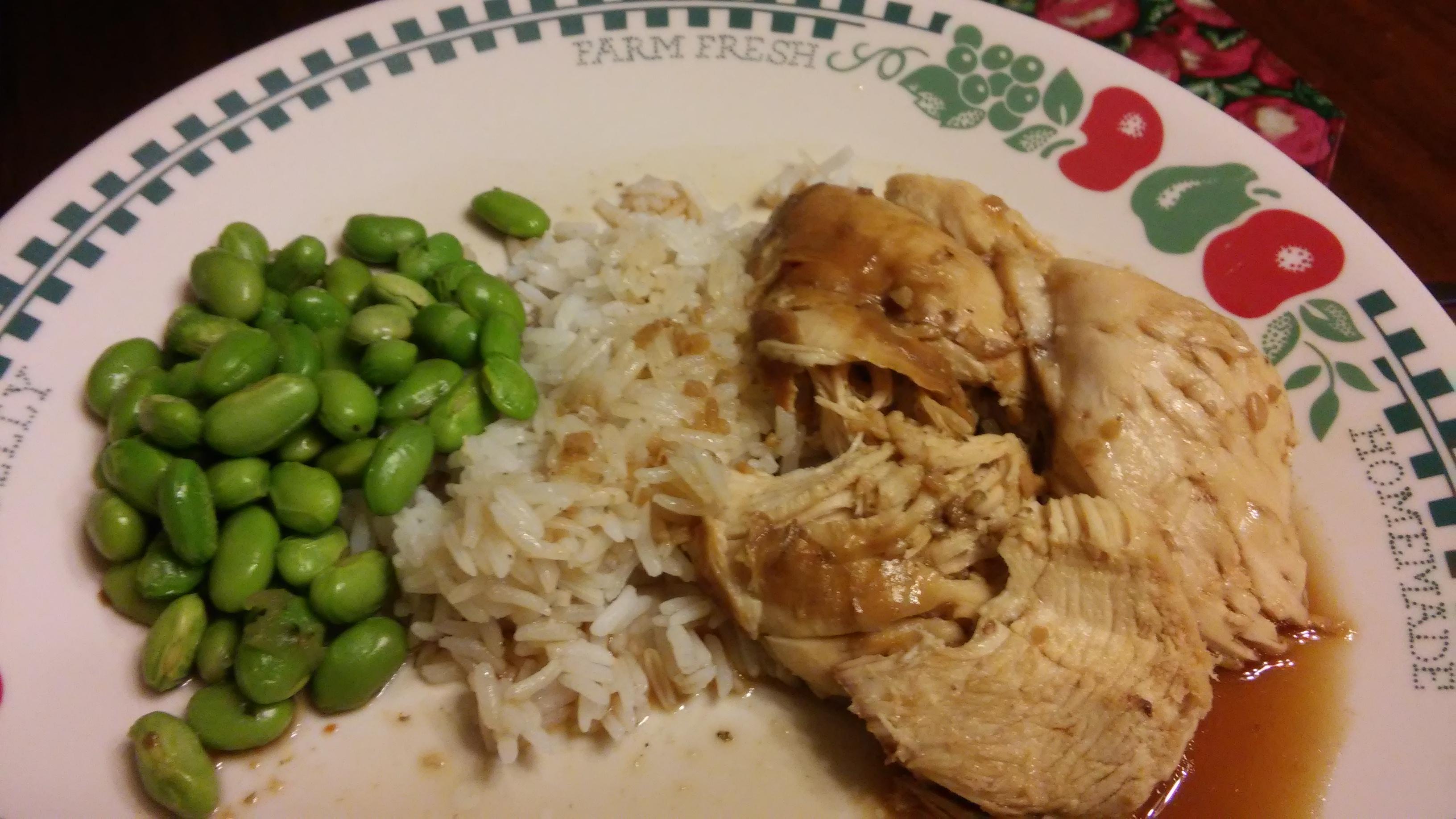 Instant Pot® Teriyaki Chicken Breast cyans