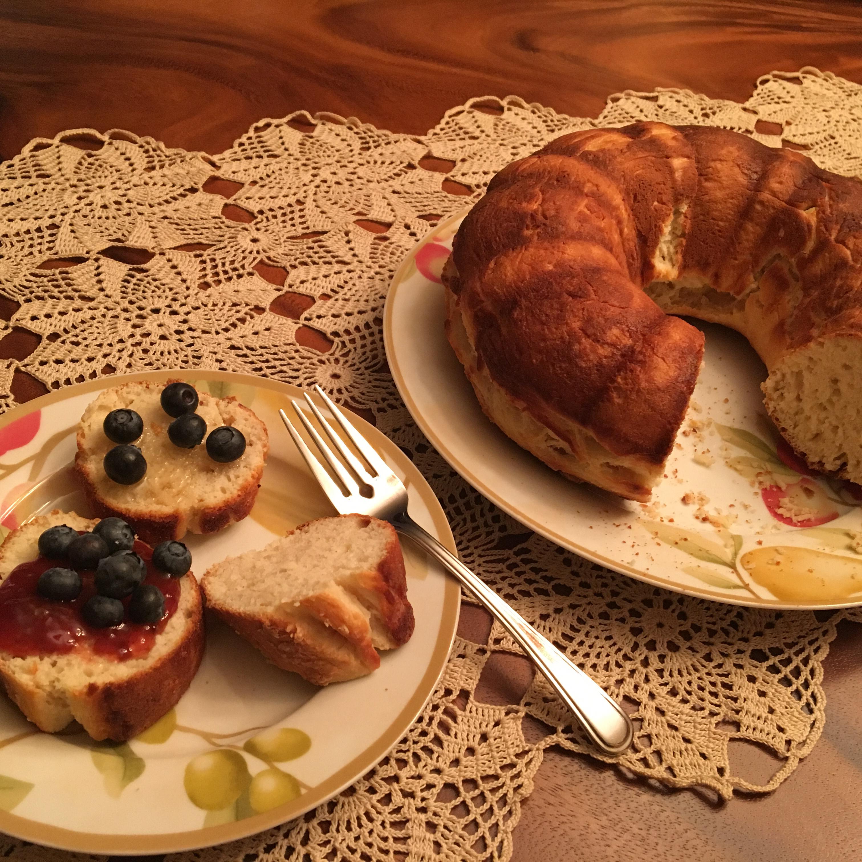 Nonfat Sour Cream Cake Bread Joy