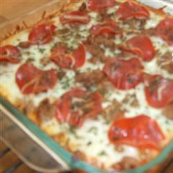 Spaghetti Pizza I Foodie Family