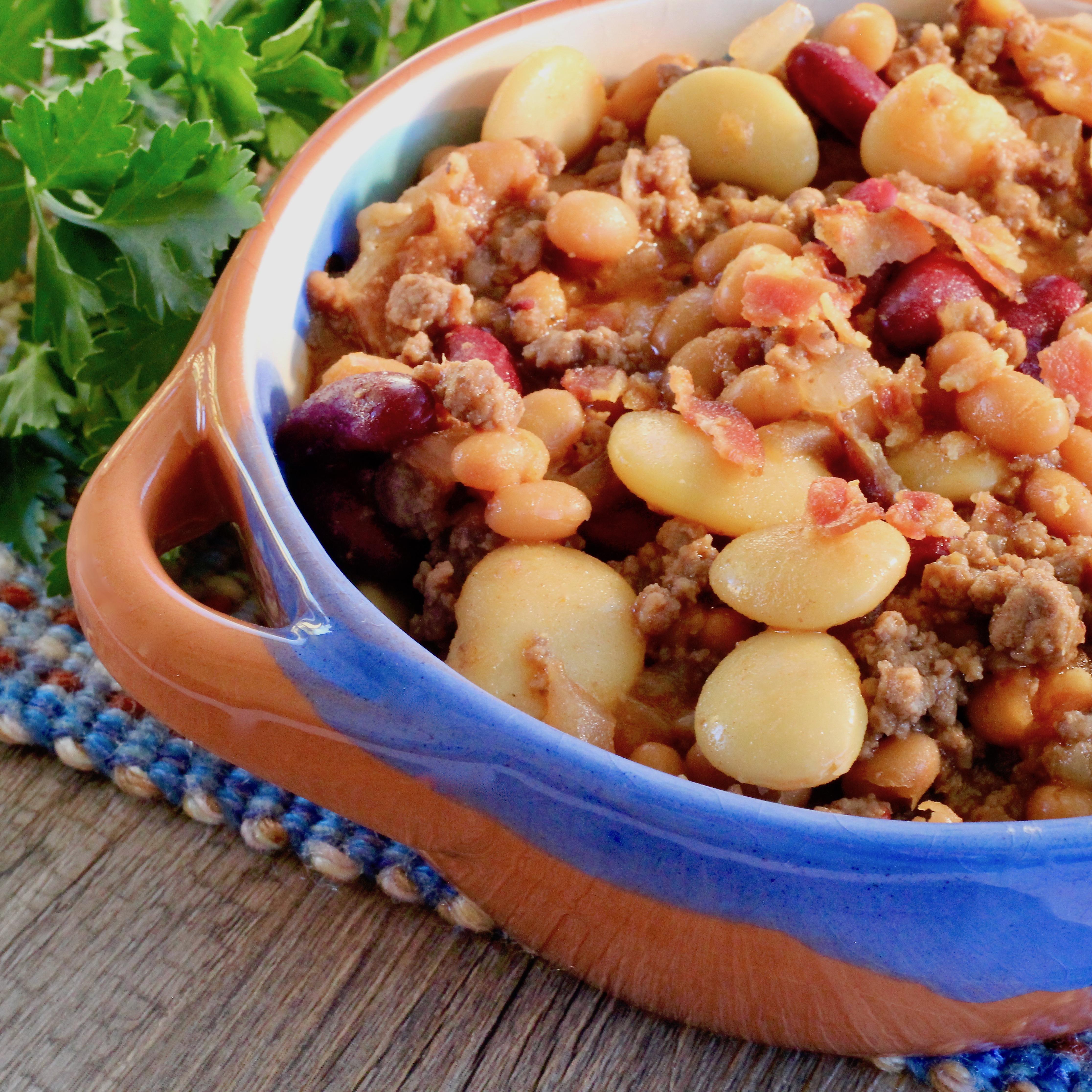 Betty's 3-Bean Hot Dish (a la Minnesota)