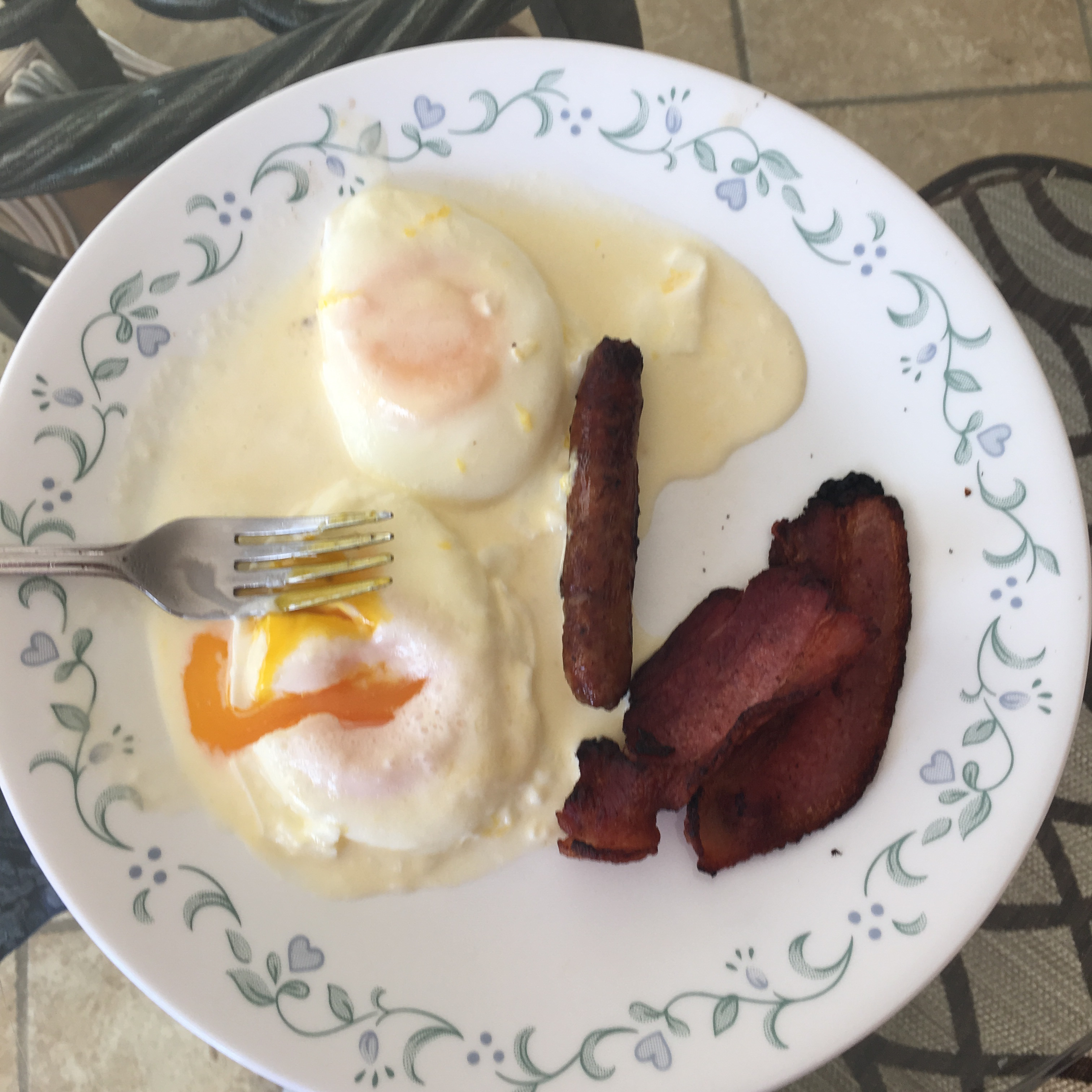 Rich Butter Cream-Poached Eggs