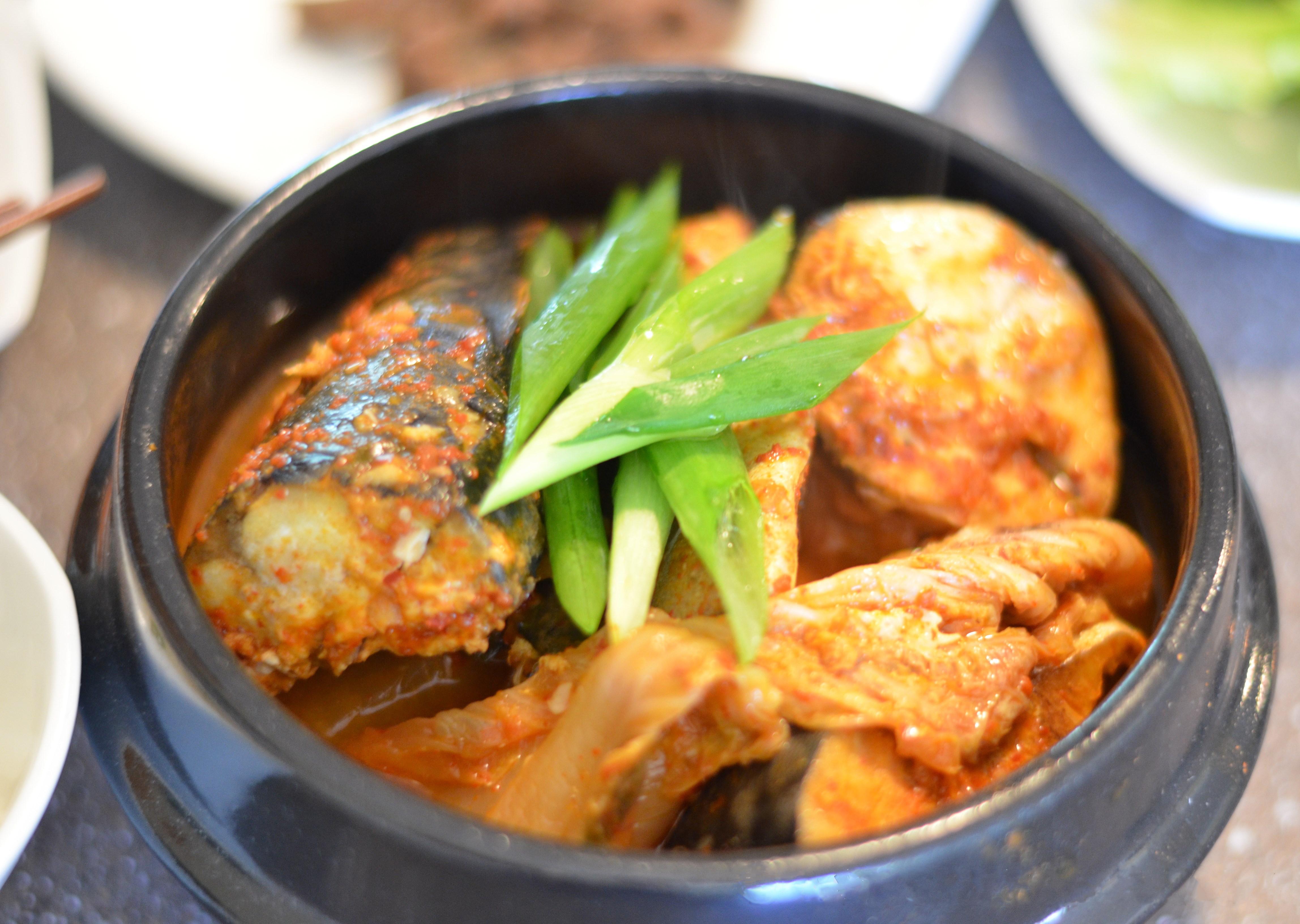 Godeungeo Jorim (Korean Braised Mackerel with Radish)