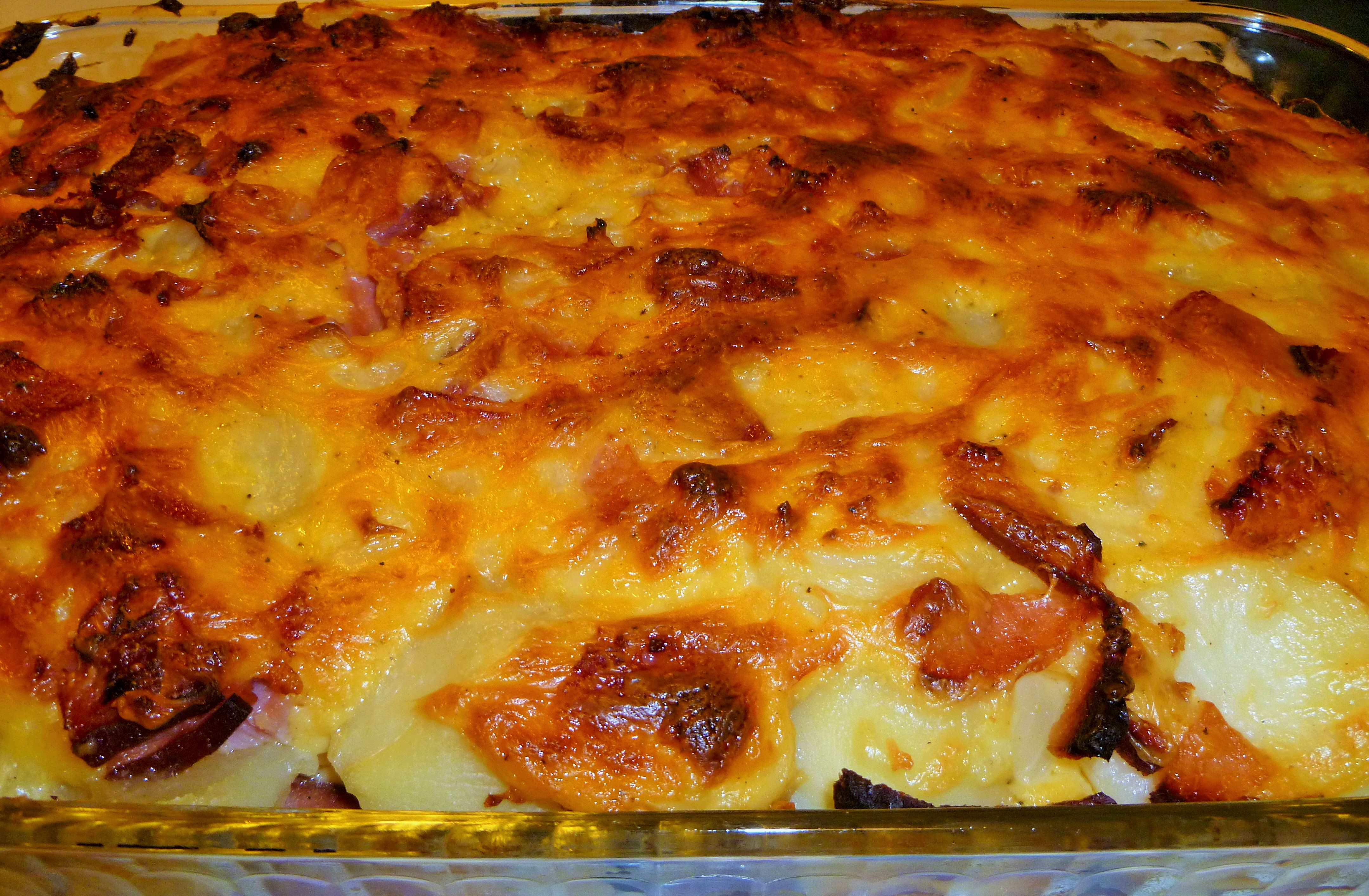 Ham and Scalloped Potatoes