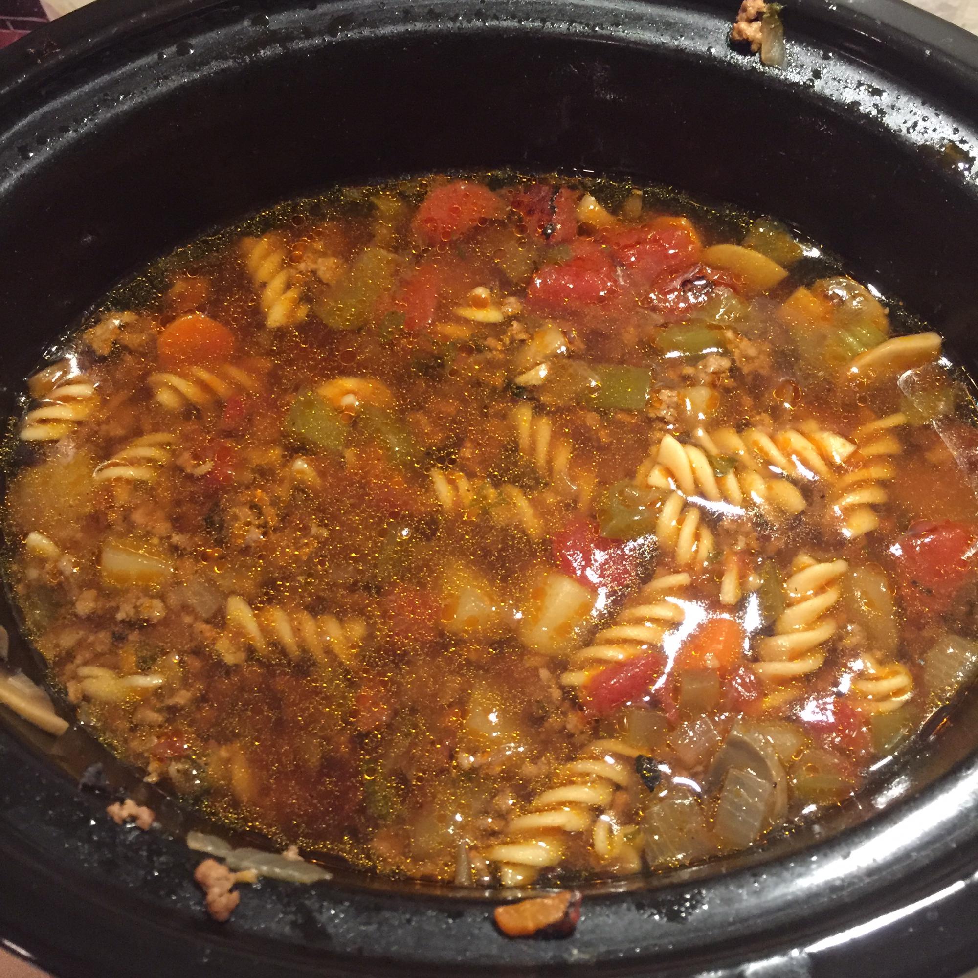 Slow Cooker Vegetable Beef Soup bianca77