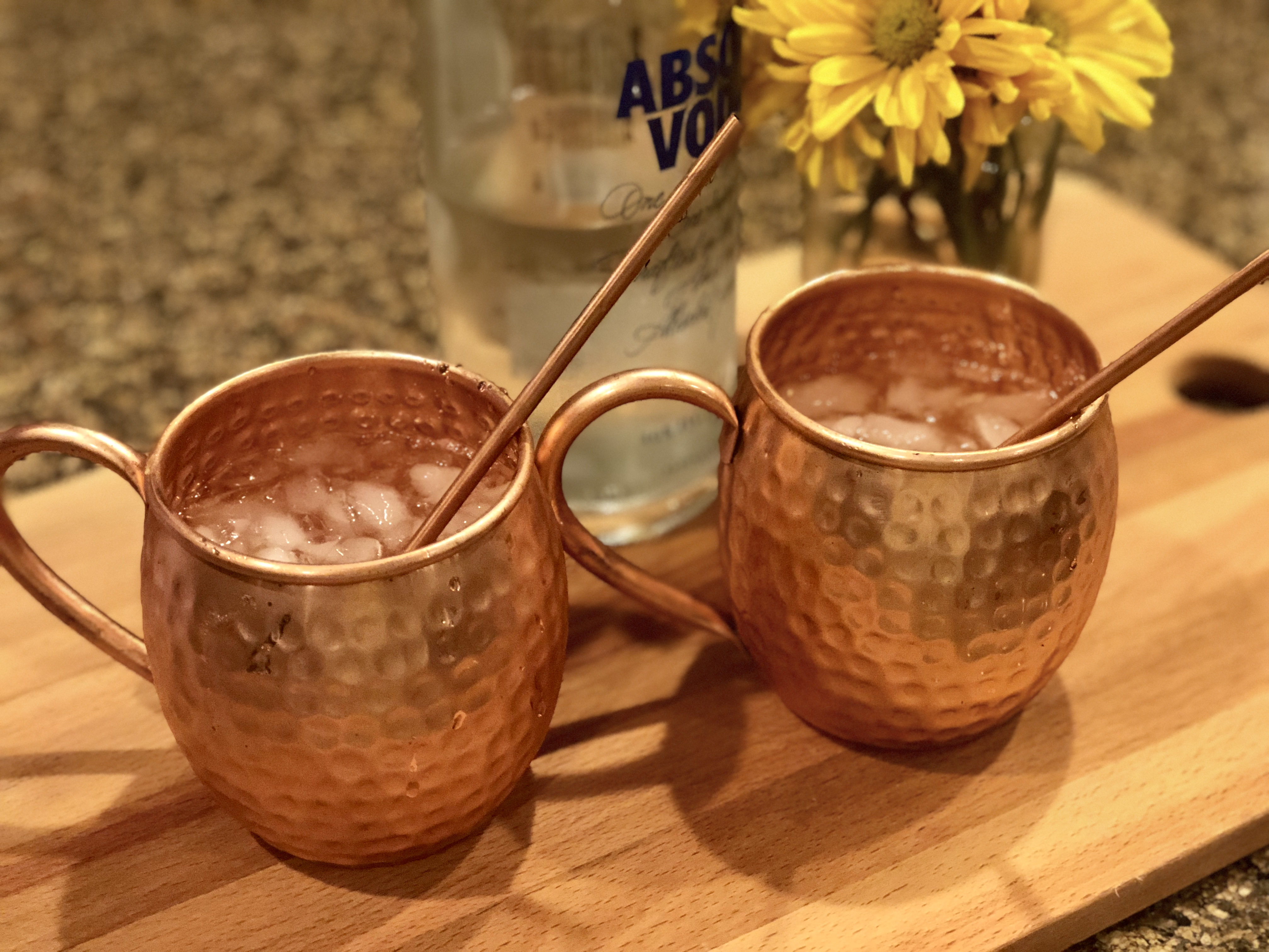Low-Carb Keto Moscow Mule