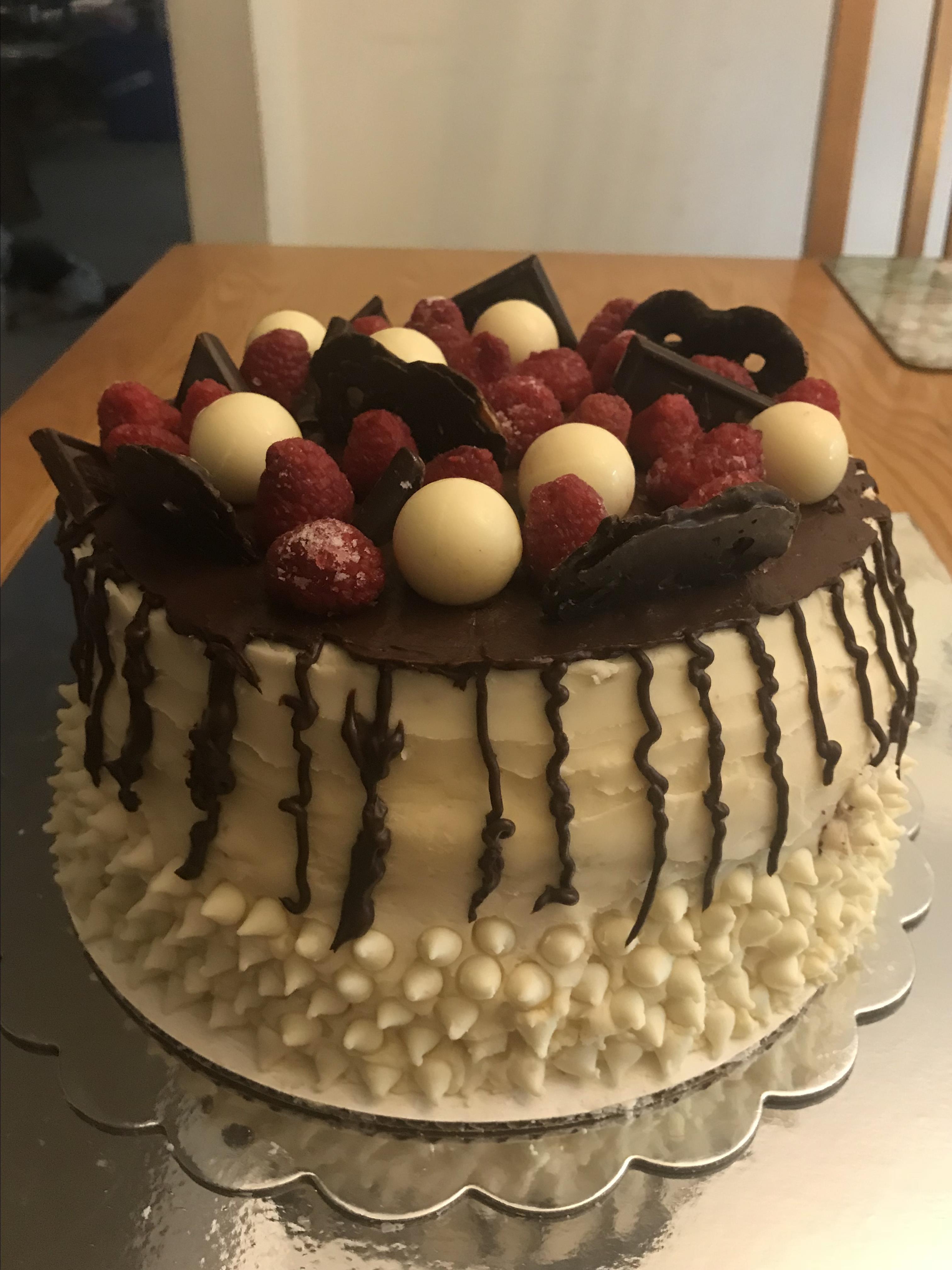 White Chocolate Cake Fran Urquhart Le